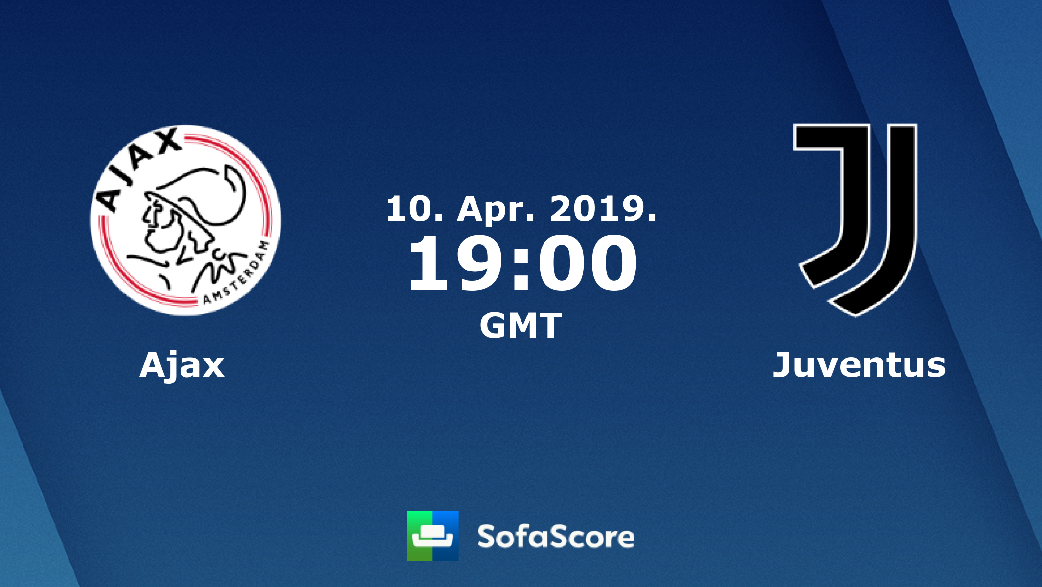 Ajax Juventus Live Score, Video Stream And H2H Results