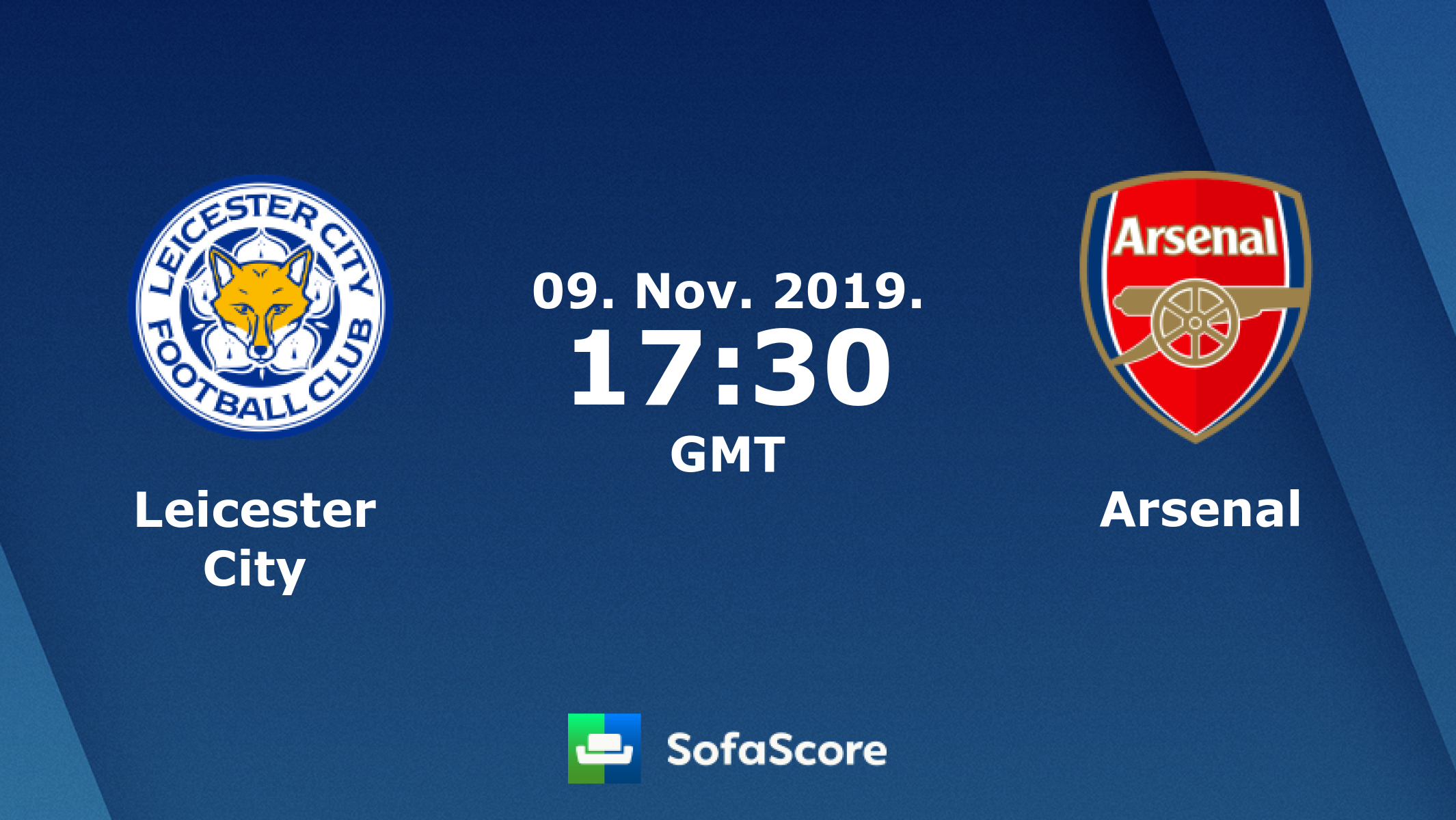 Leicester City Arsenal live score, video stream and H2H results