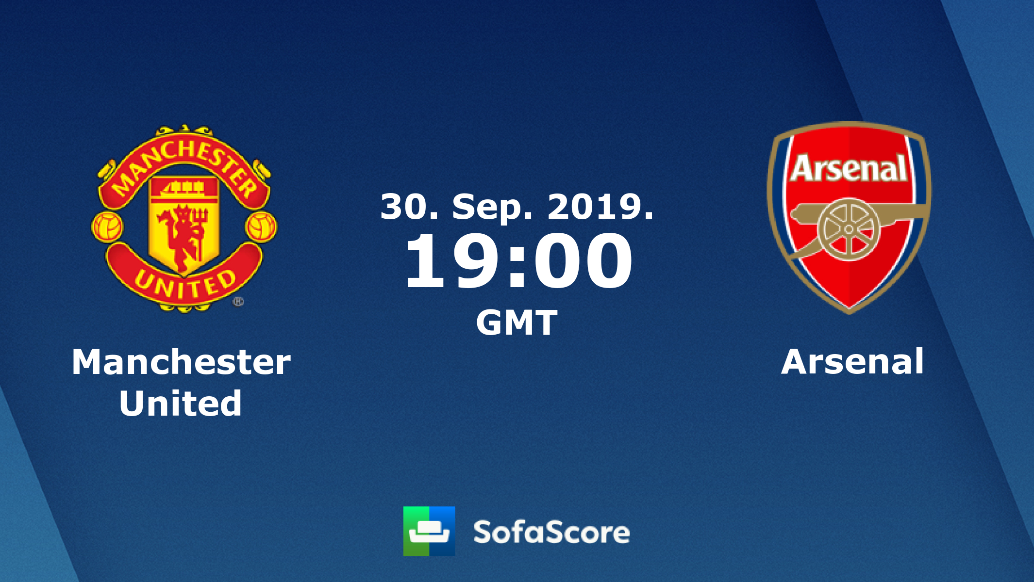Manchester United Arsenal live score, video stream and H2H results