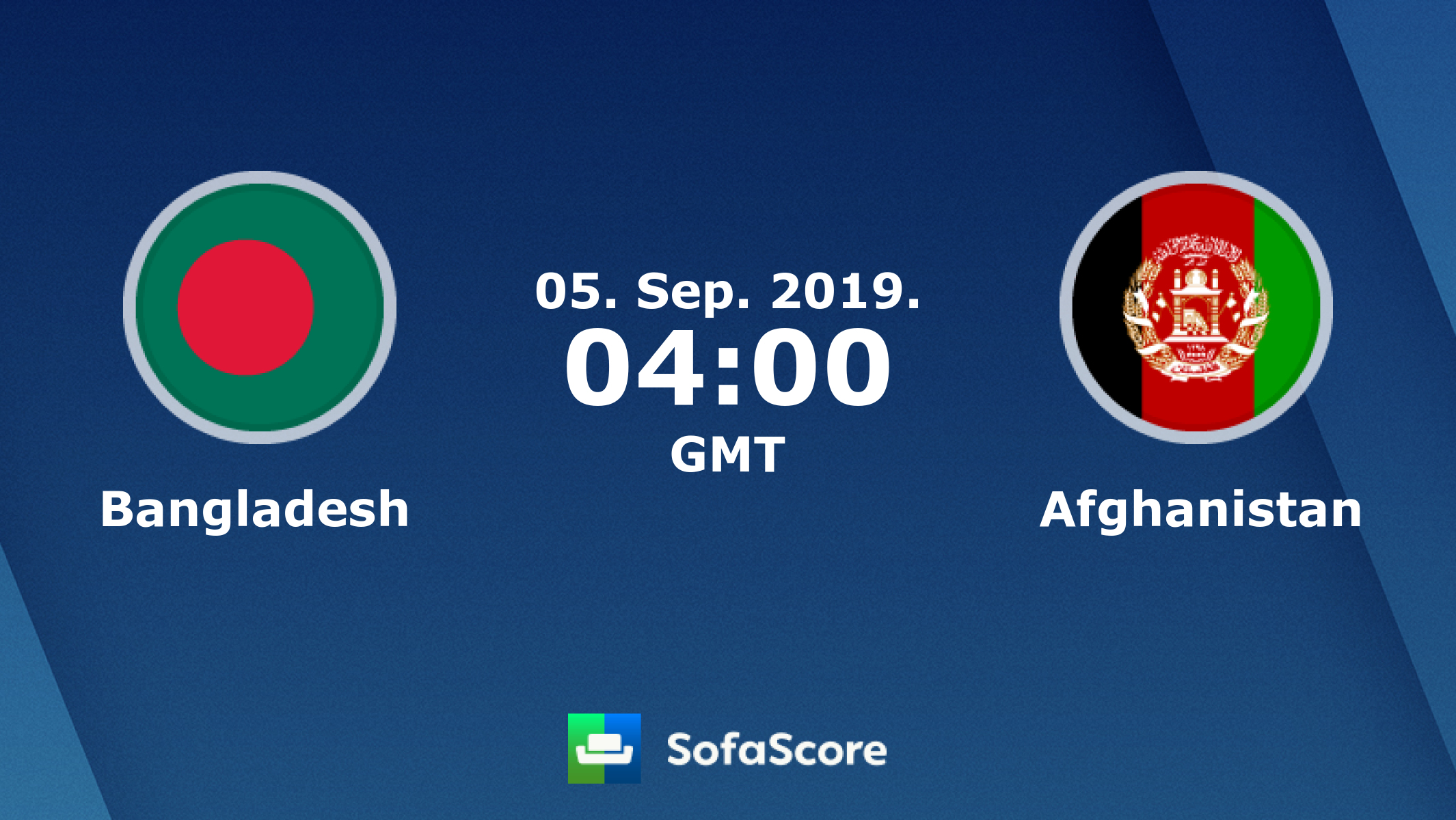 Bangladesh Afghanistan live score, video stream and H2H
