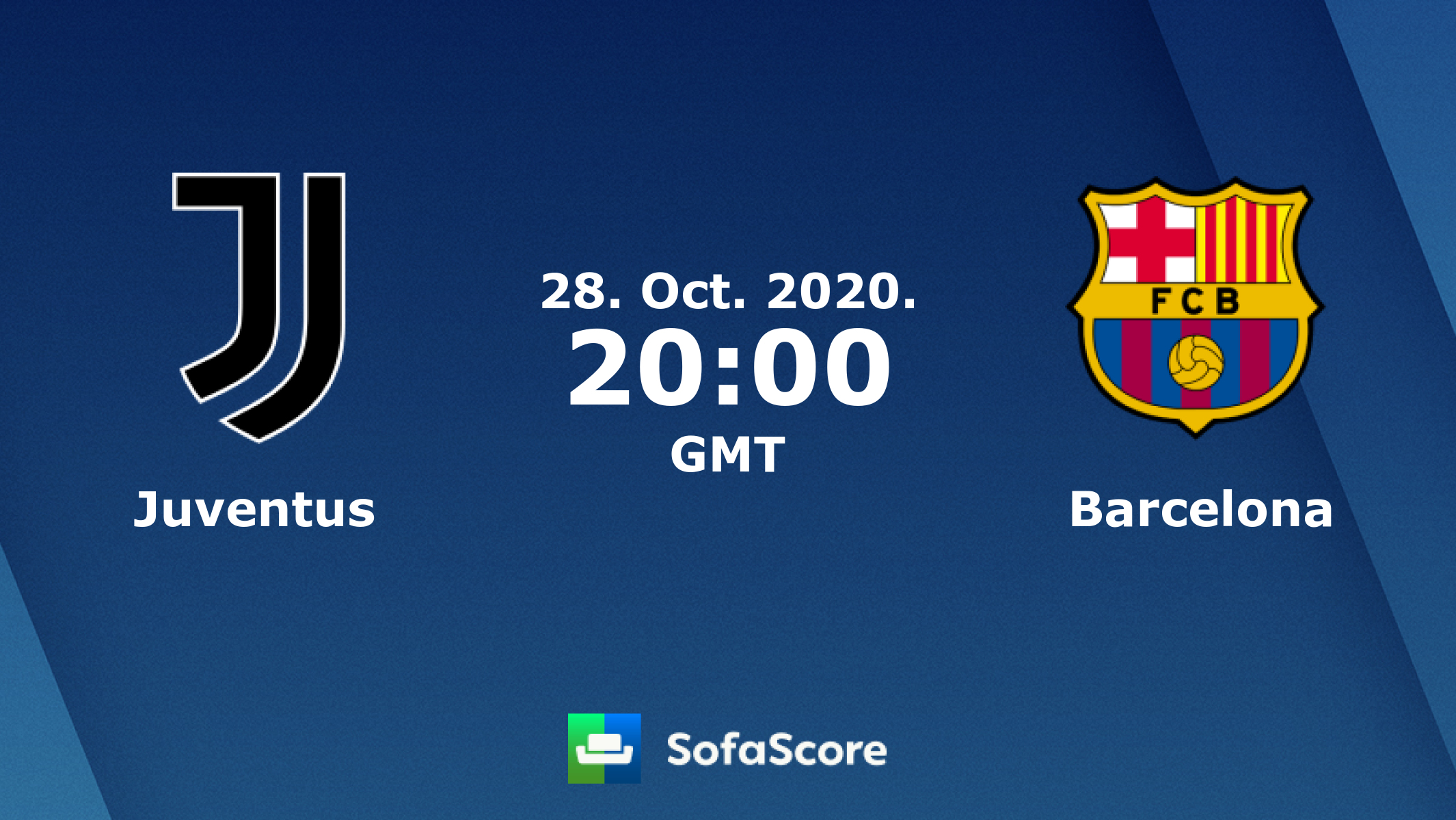Juventus Barcelona Live Score Video Stream And H2h Results Sofascore