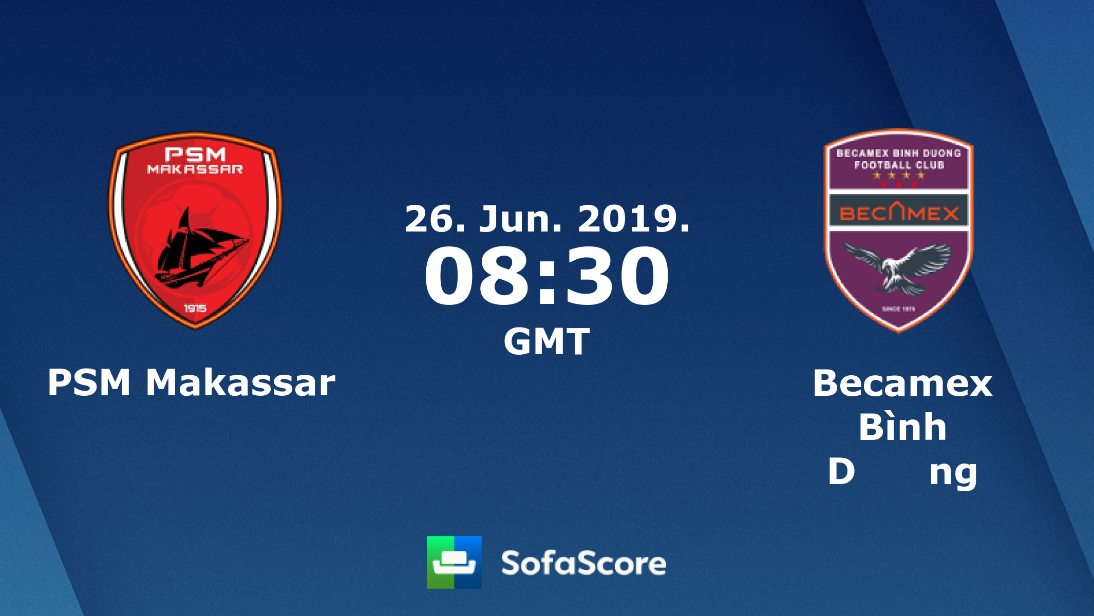 Psm Makassar Becamex Binh Duong Live Score Video Stream And Hh Results Sofascore