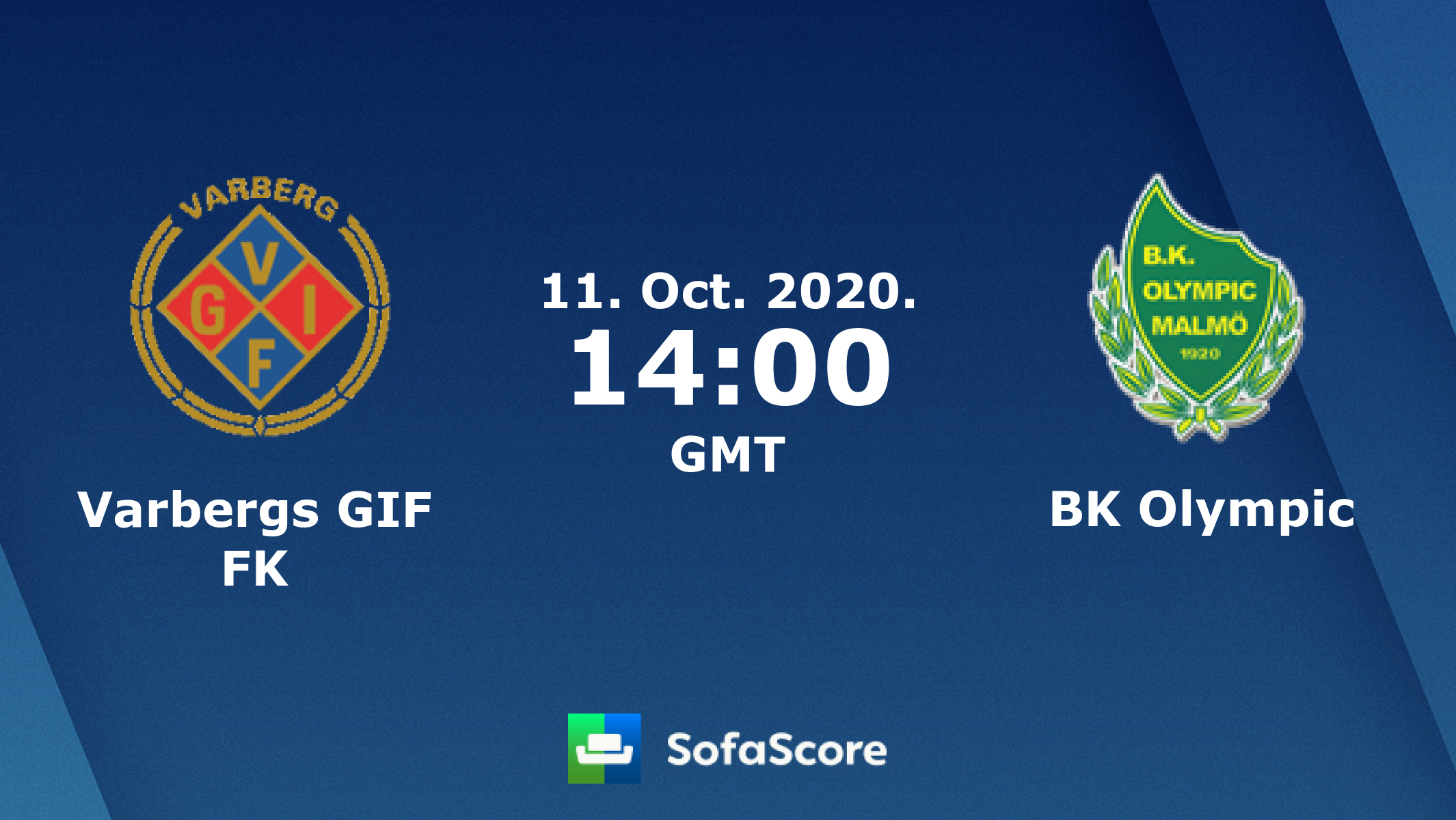 Varbergs GIF FK vs BK Olympic live score, H2H and lineups ...