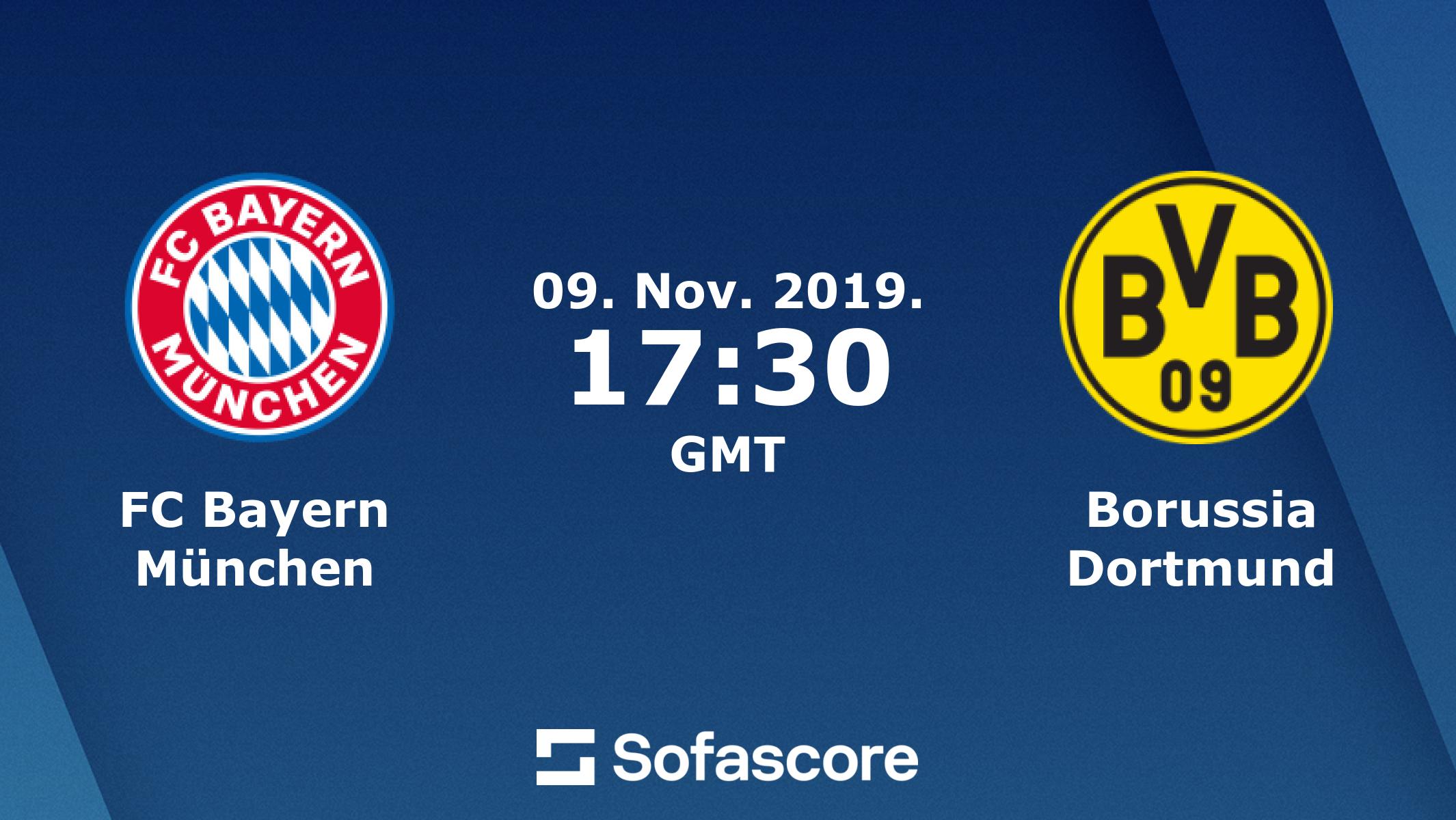 Bayern Munchen Borussia Dortmund Live Score Video Stream