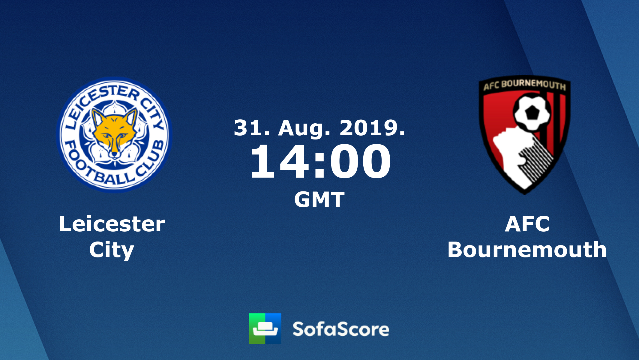 Leicester City Bournemouth live score, video stream and H2H results