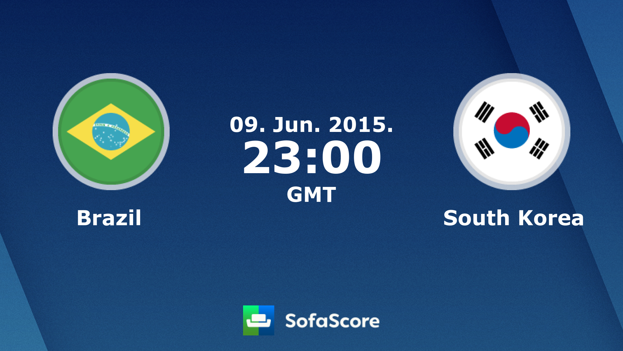 Brazil South Korea live score, video stream and H2H results