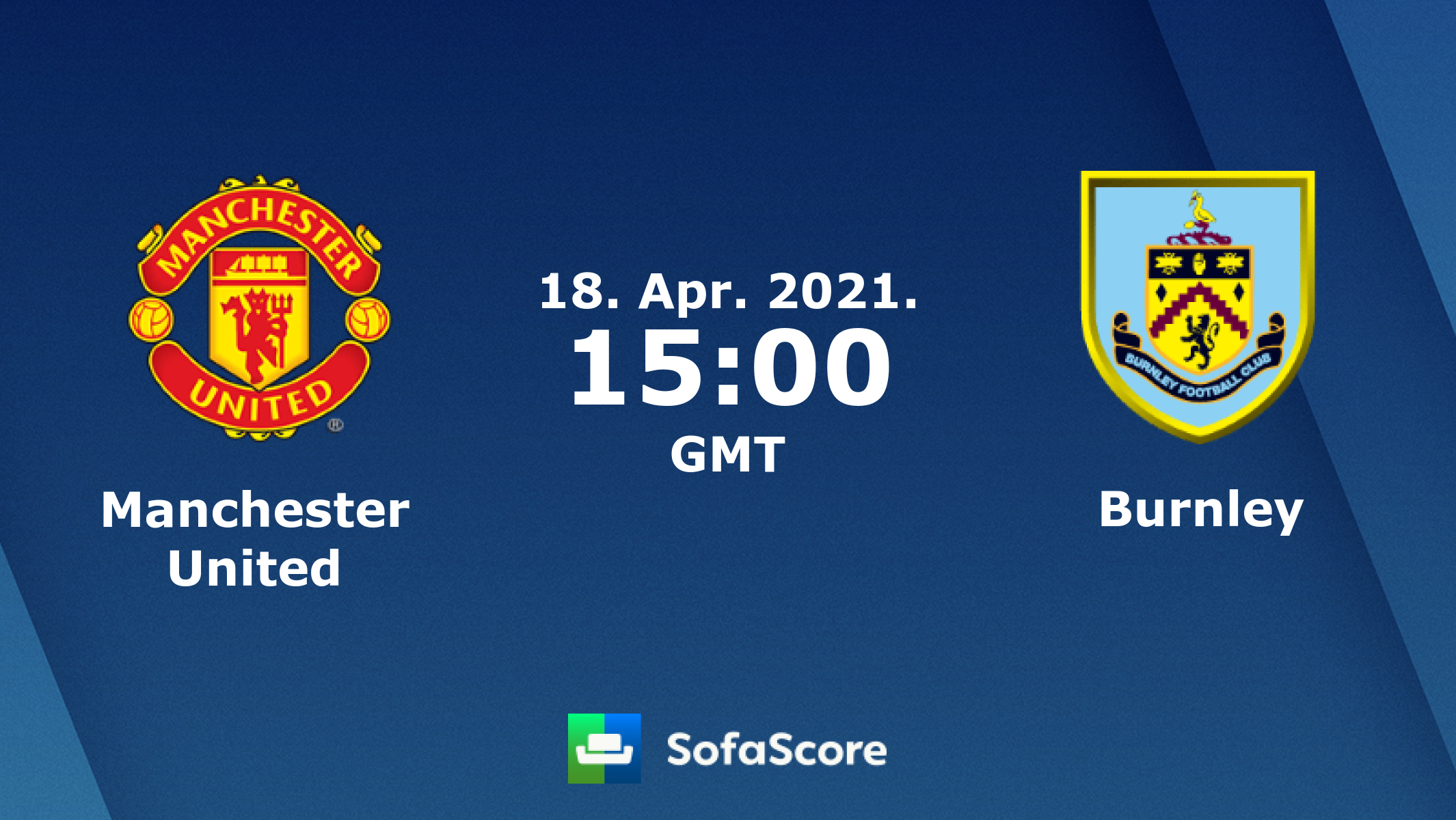 Manchester United Burnley live score, video stream and H2H ...