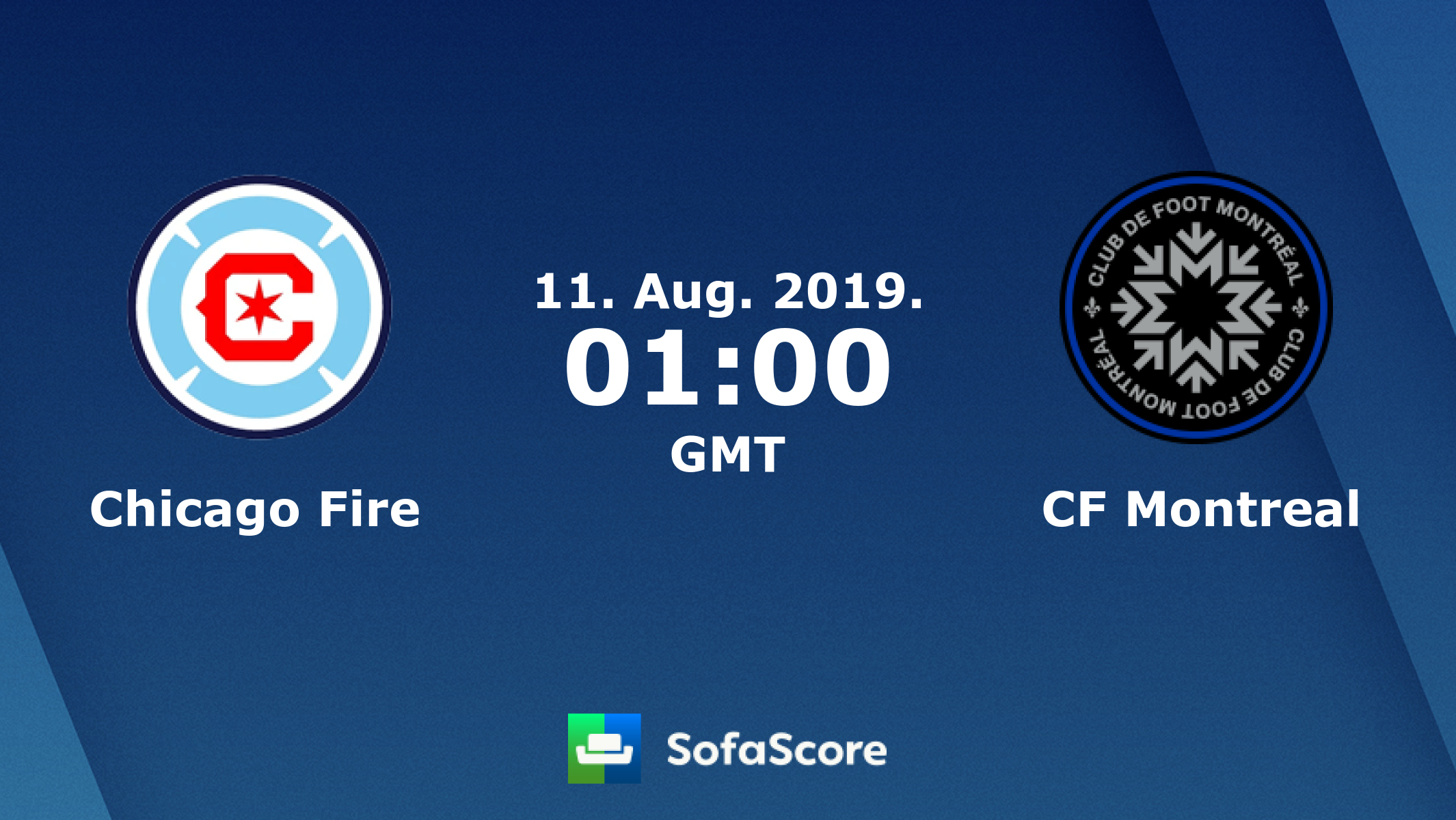Chicago Fire Impact Montreal live score, video stream and H2H