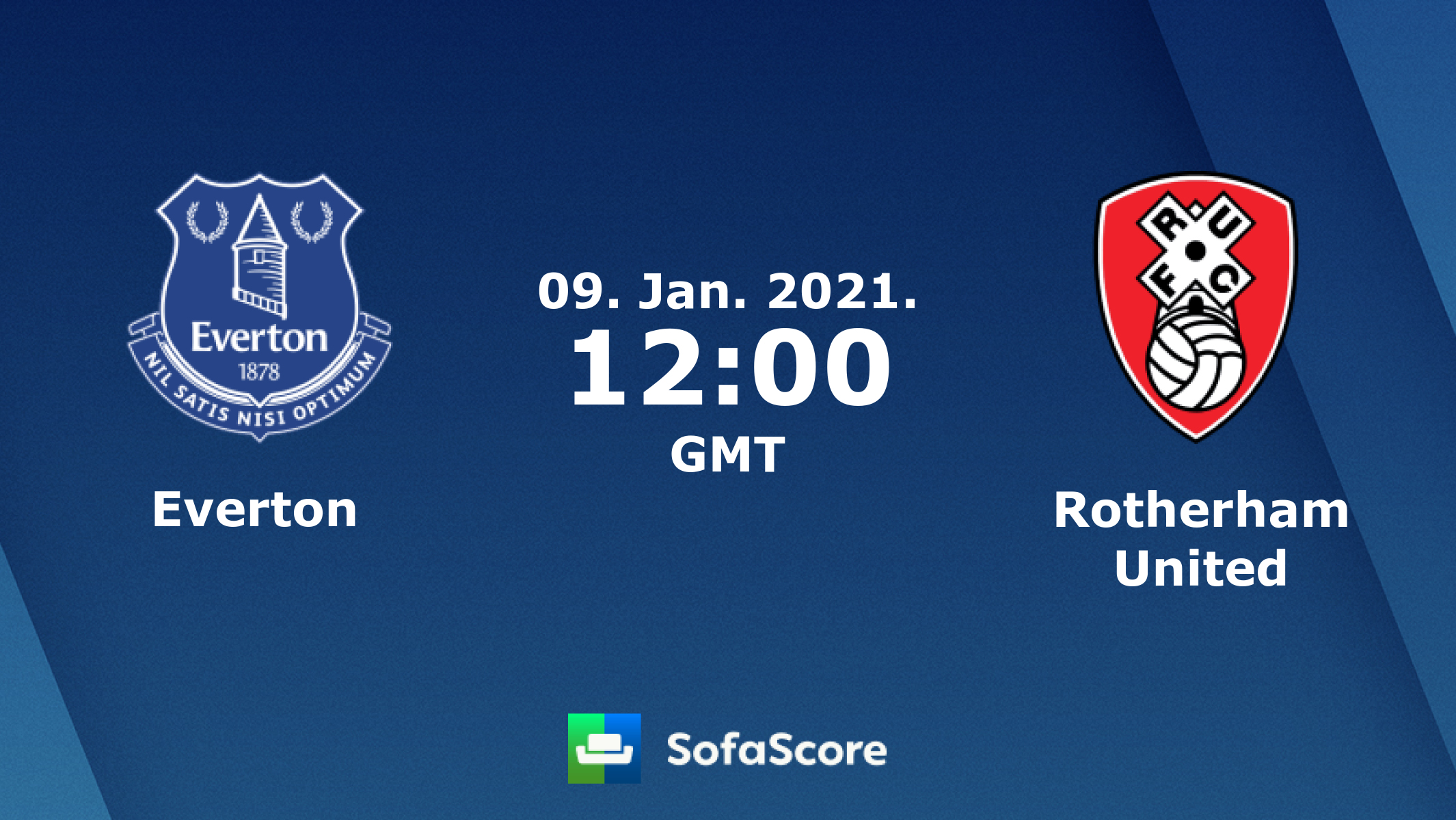 Everton Rotherham United Live Score Video Stream And H2h Results Sofascore