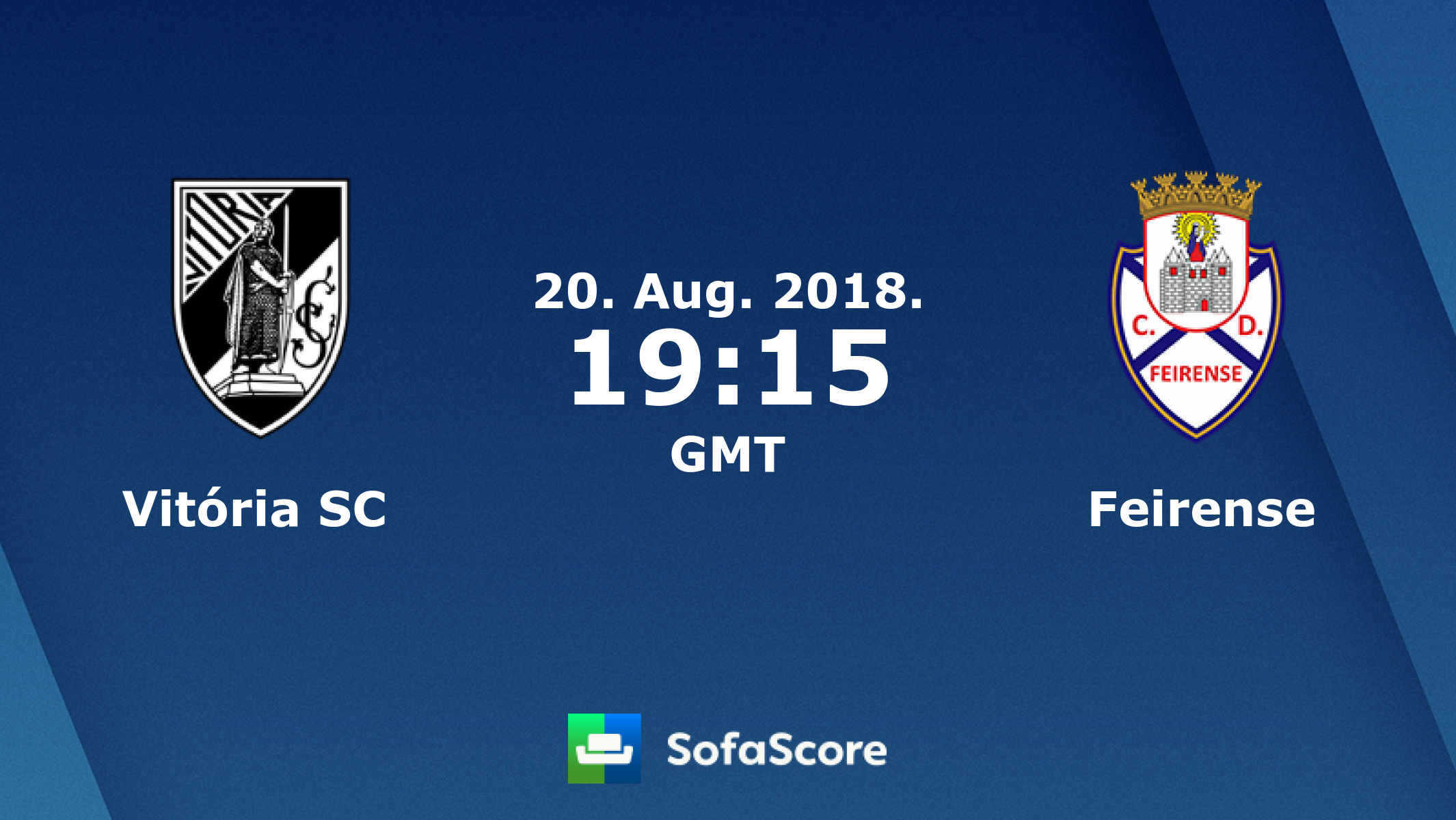 Vit³ria Guimar£es Feirense live score video stream and H2H results SofaScore