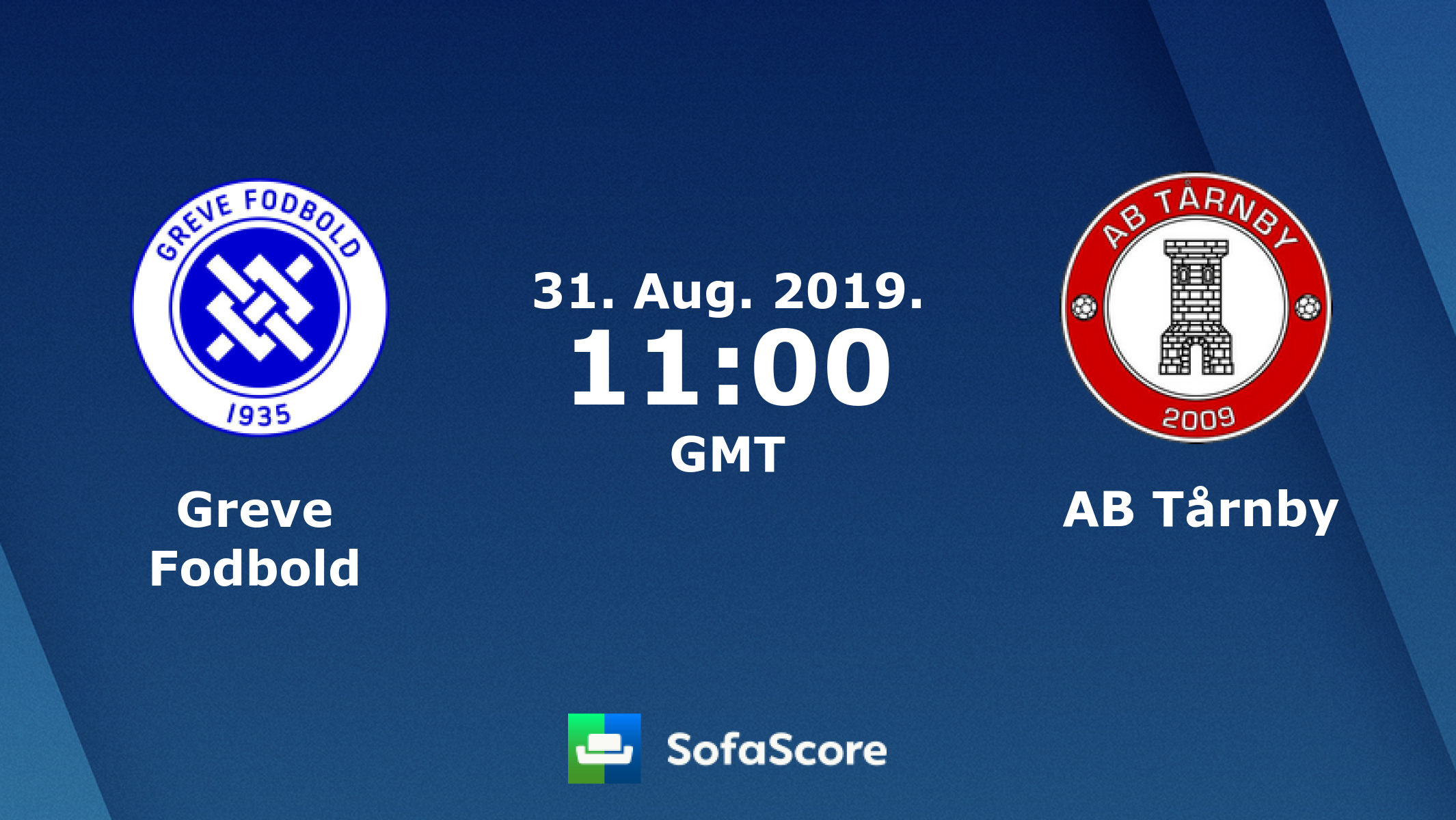 Greve Fodbold AB Tarnby live score, video stream and H2H