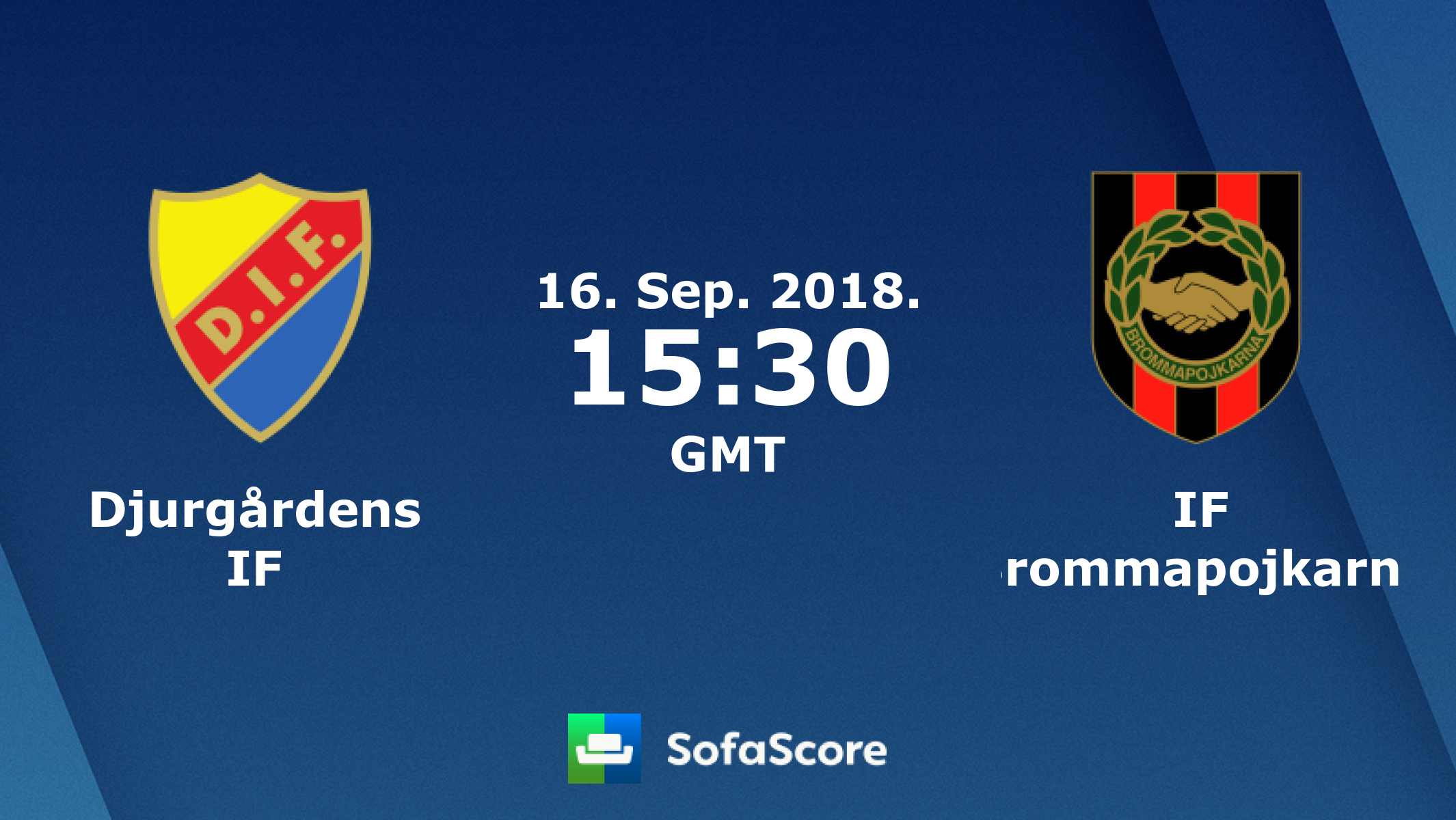 Djurgårdens IF IF Brommapojkarna live score, video stream and H2H