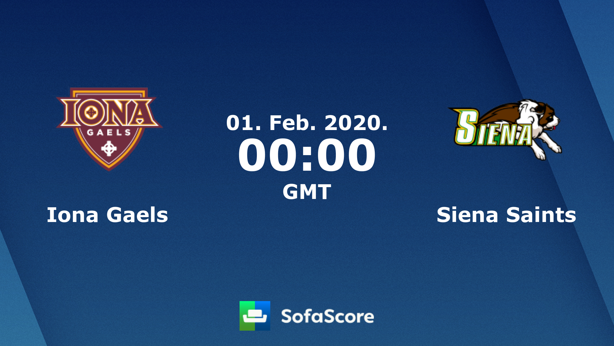 Iona Days Schedule Of Events 2020.Iona Gaels Siena Saints Live Score Video Stream And H2h