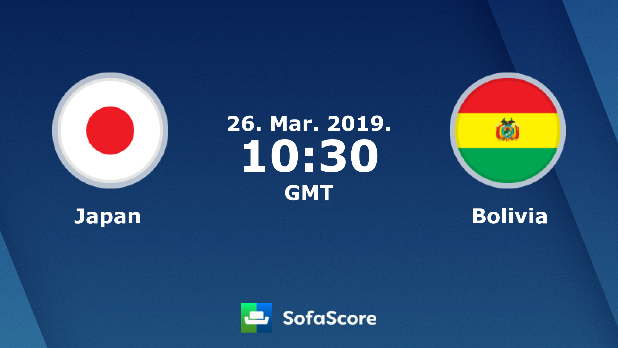 6183b705 Japan Bolivia live score, video stream and H2H results - SofaScore