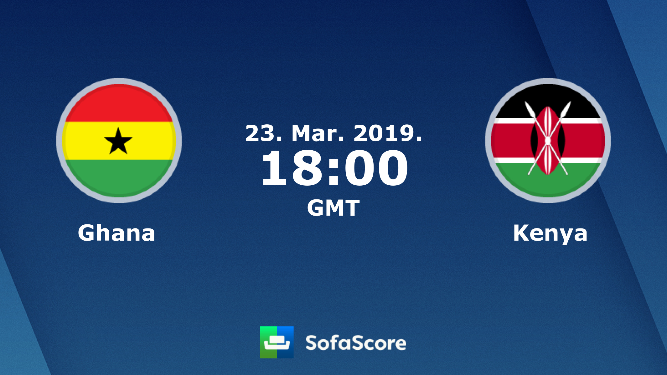 Ghana Kenya Live Score Video Stream And H2h Results Sofascore