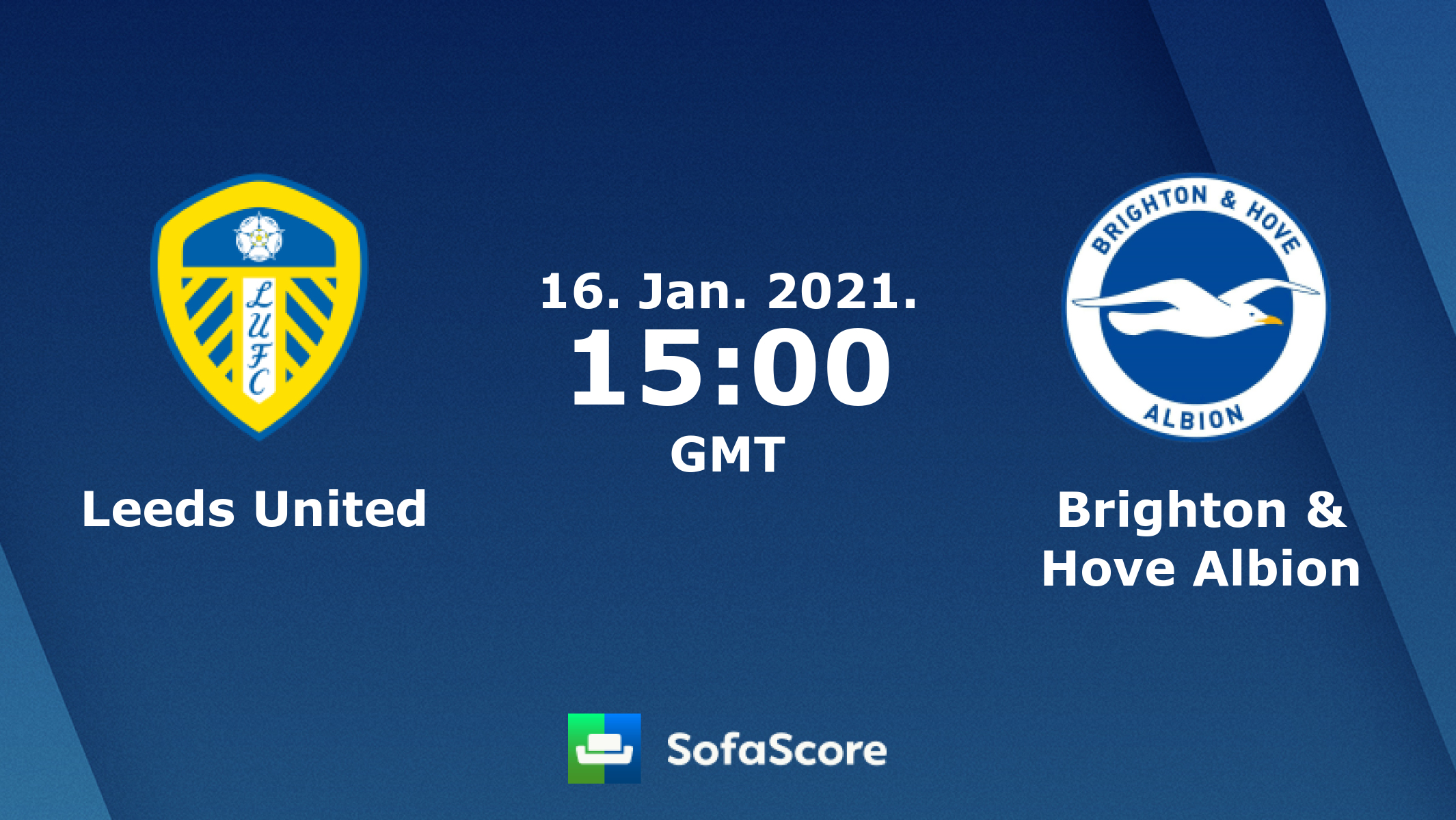 Leeds United Brighton Hove Albion Live Score Video Stream And H2h Results Sofascore