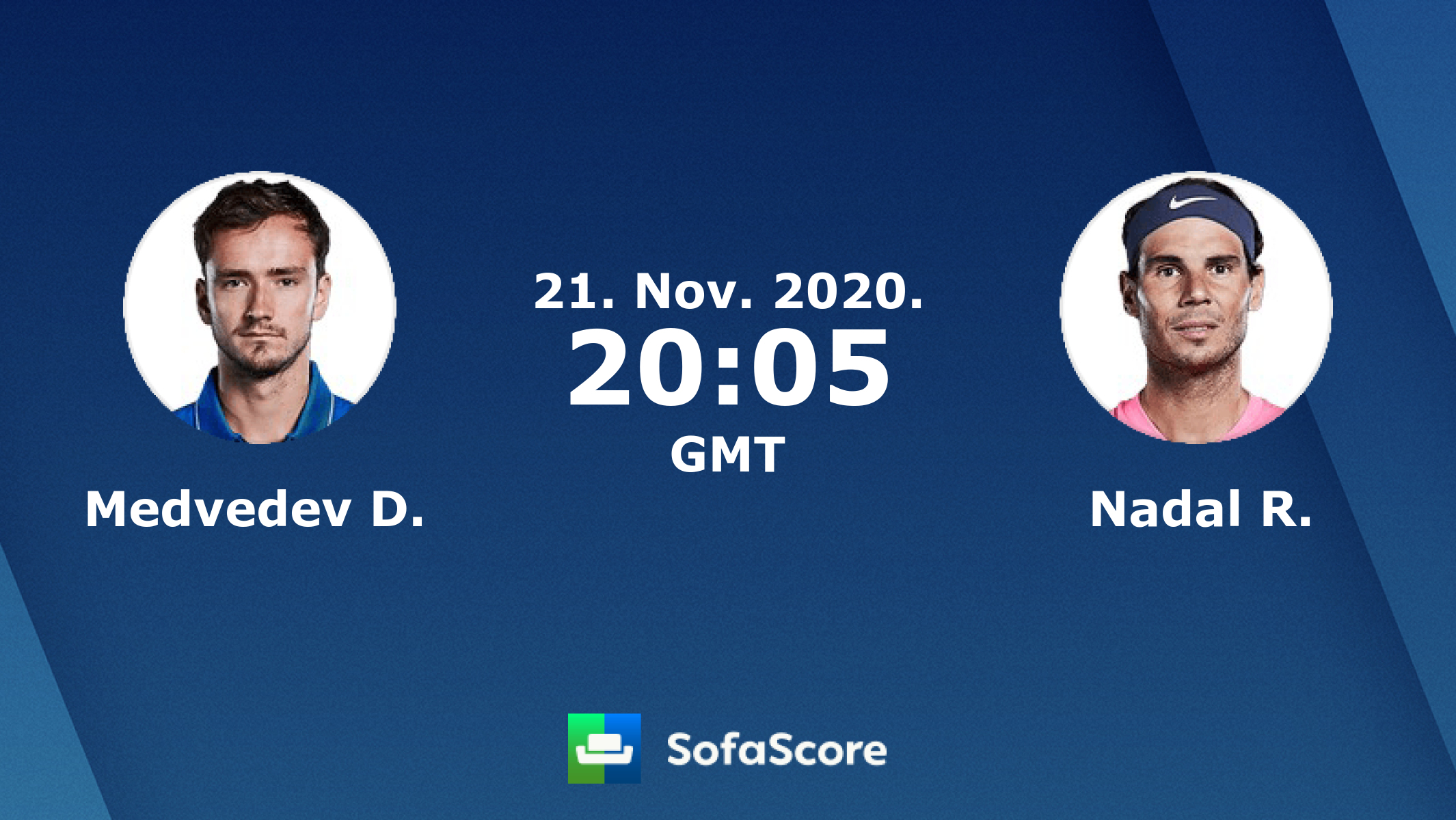 Medvedev D. Nadal R. live score, video stream and H2H results - SofaScore