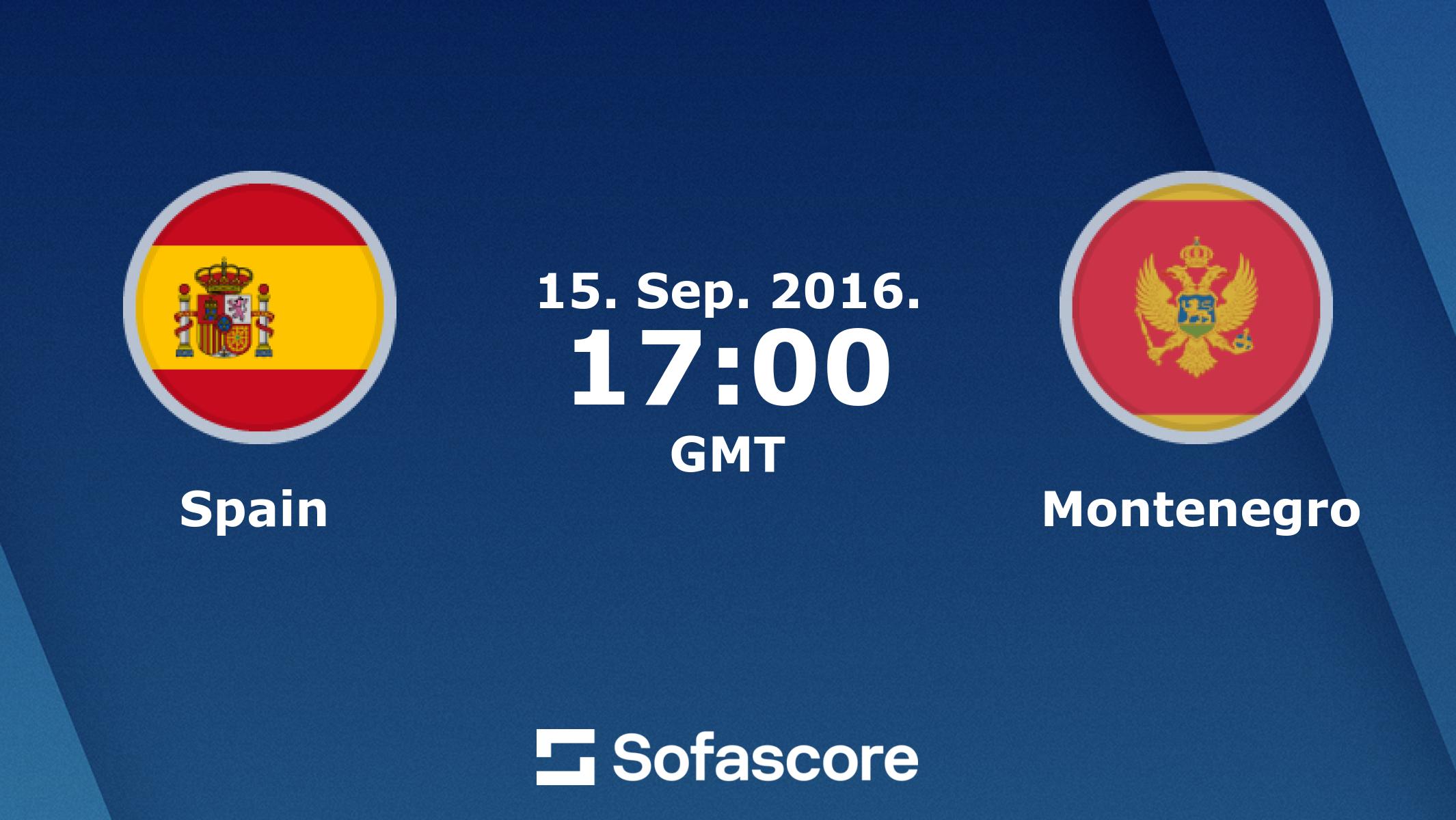 Смотреть онлайн трансляцию футбола черногория- испания