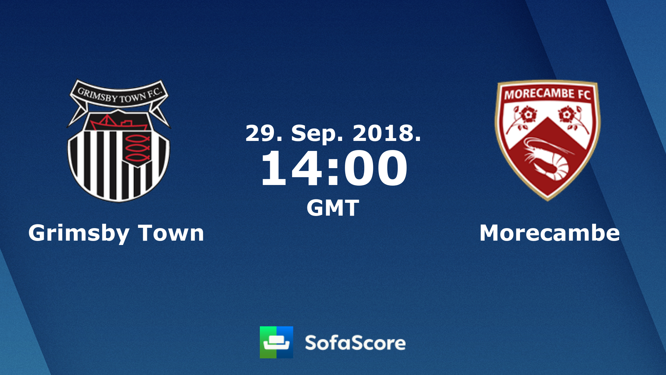 Grimsby Town Morecambe Fc Live Score Video Stream And H2h