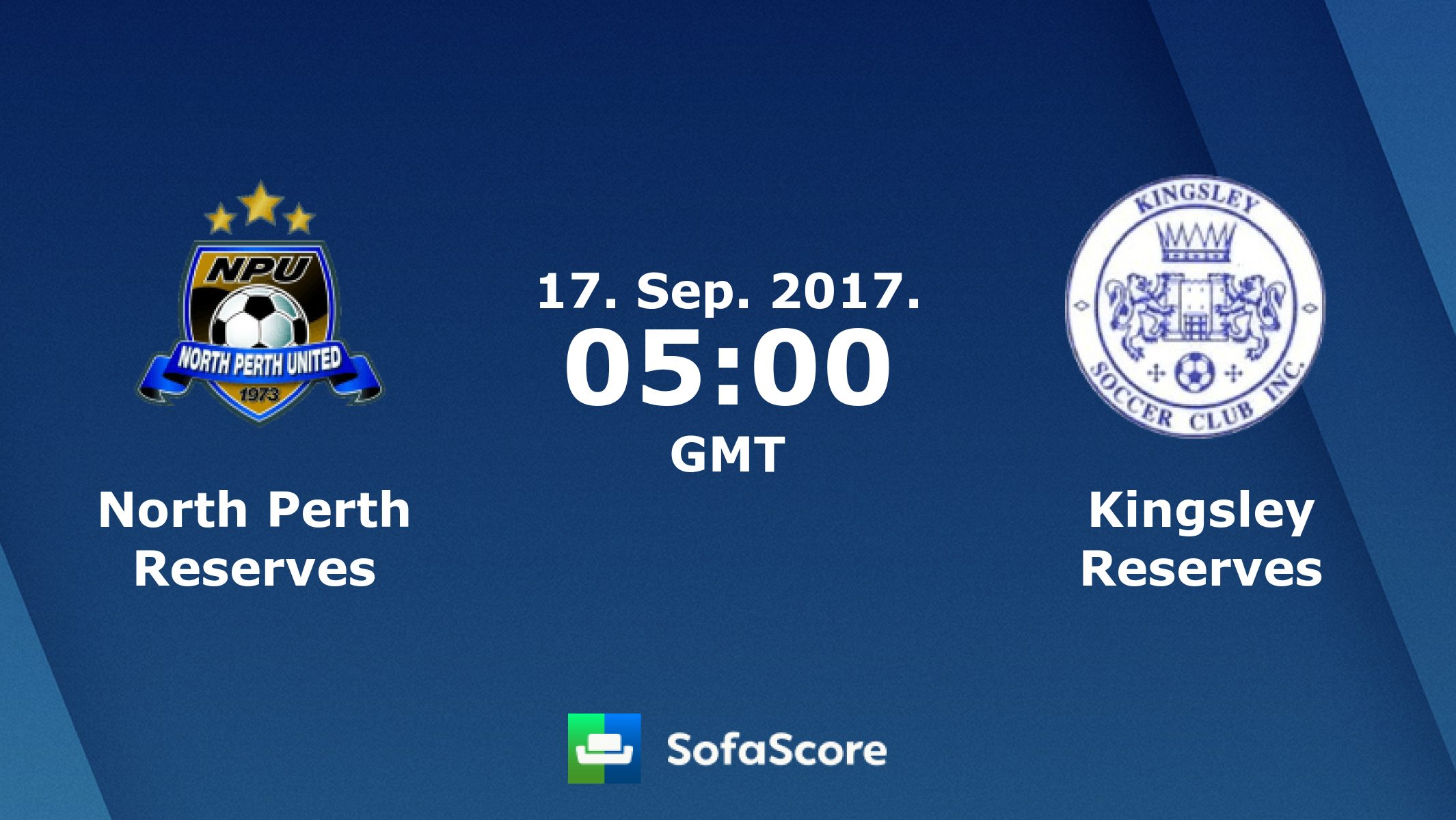 North Perth Reserves Kingsley Reserves live score, video stream and H2H results - SofaScore.com