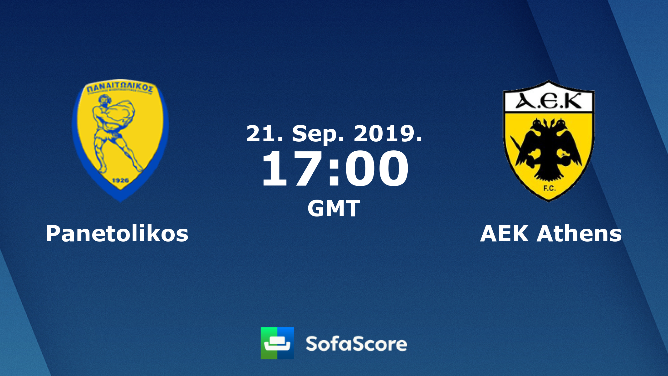 ΠΑΝΑΙΤΩΛΙΚΟΣ - ΑΕΚ   Panetolikos vs AEK Athens    live streaming