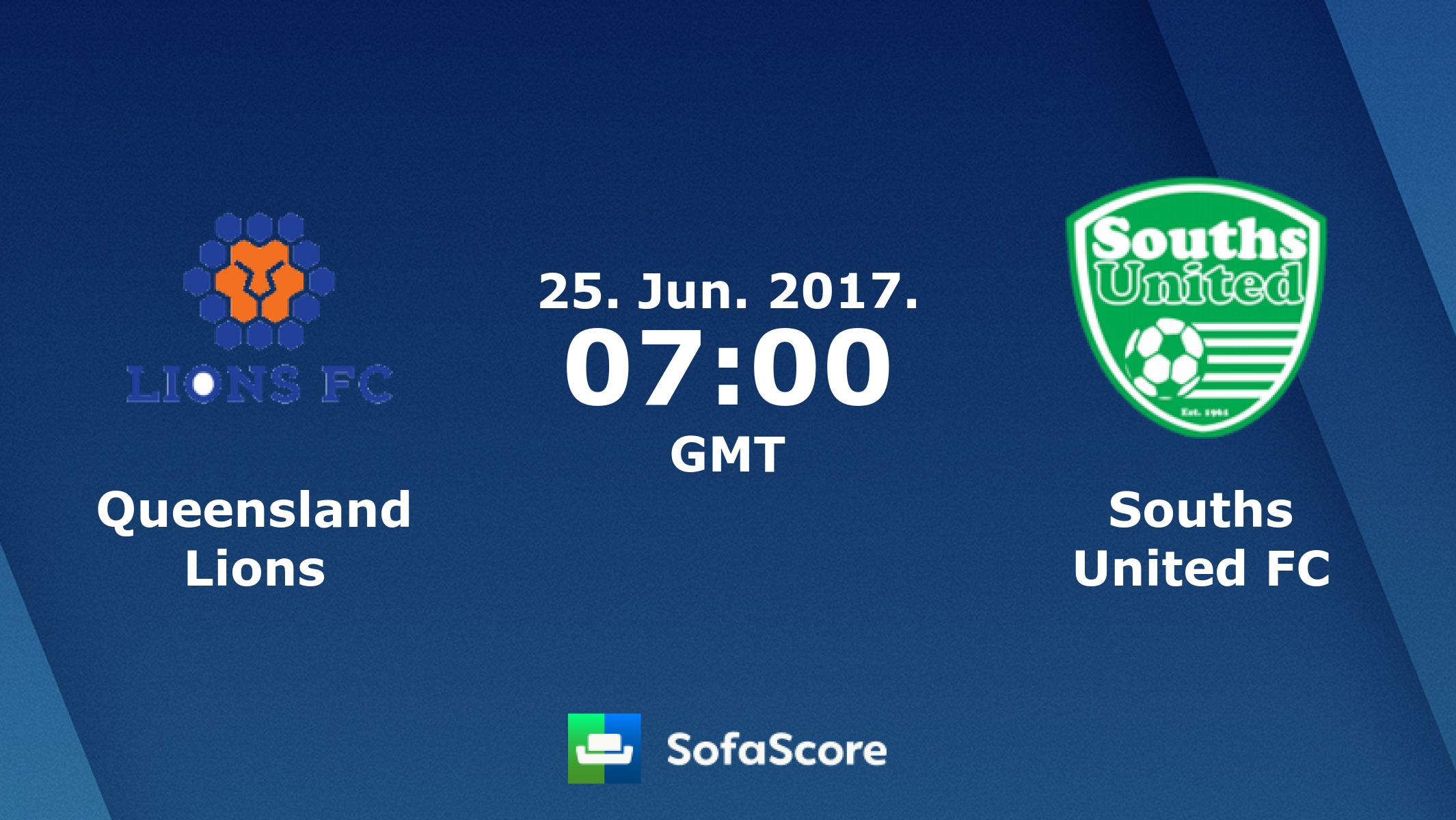 Queensland Lions Souths United FC live score, video stream