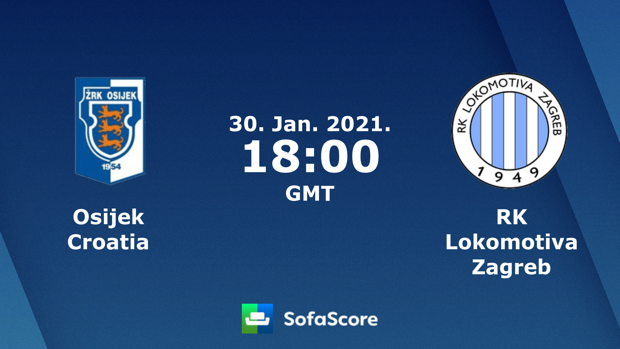 Osijek Croatia Rk Lokomotiva Zagreb Live Score Video Stream And H2h Results Sofascore