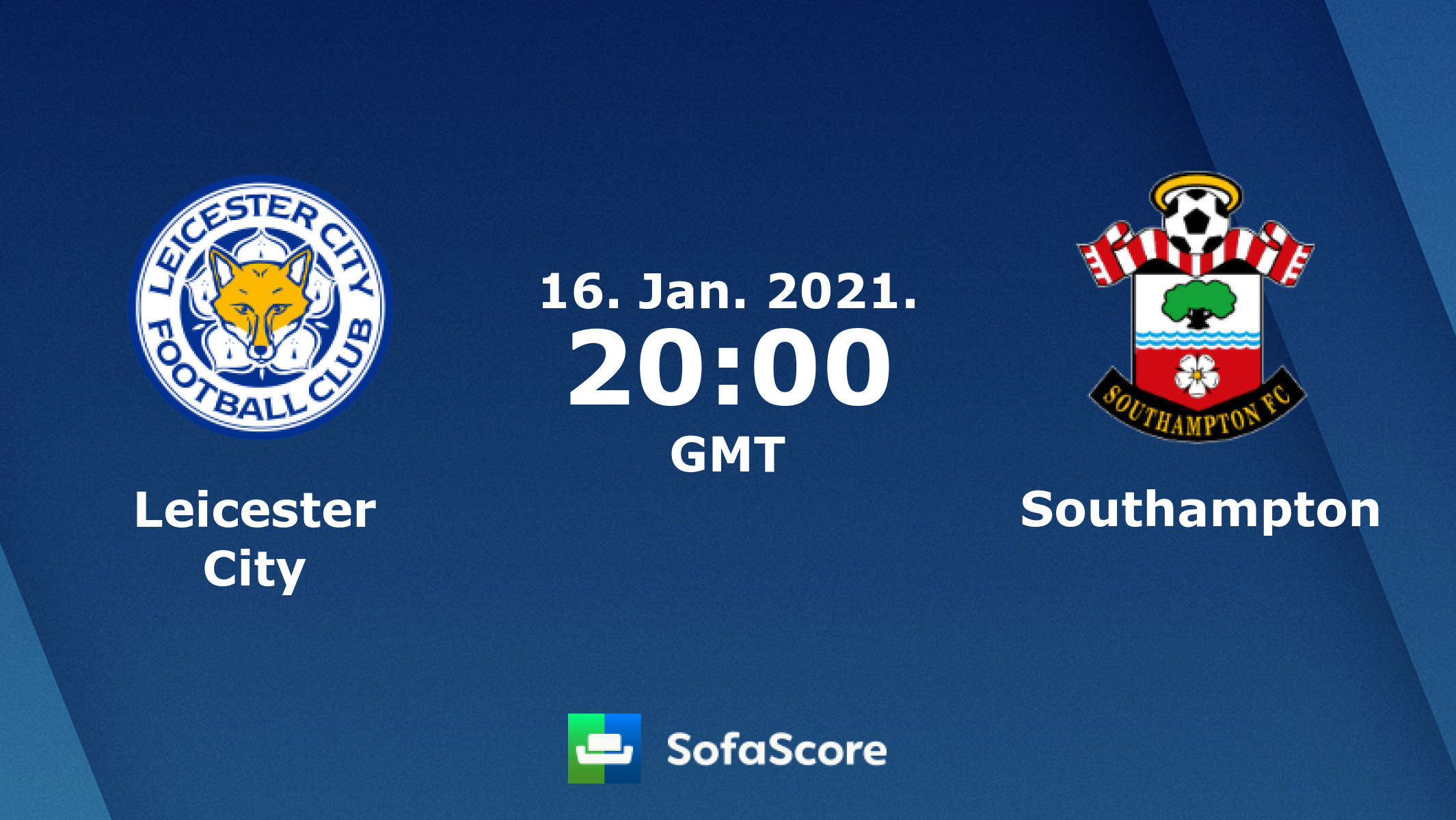 Leicester City Southampton Live Score Video Stream And H2h Results Sofascore