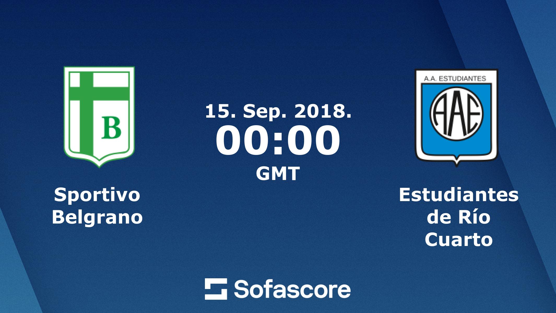 Sportivo Belgrano Estudiantes Rio Cuarto Live Ticker und Live Stream ...