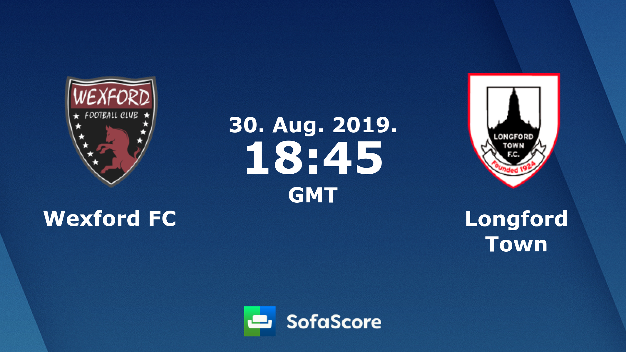 Wexford FC Longford Town live score, video stream and H2H