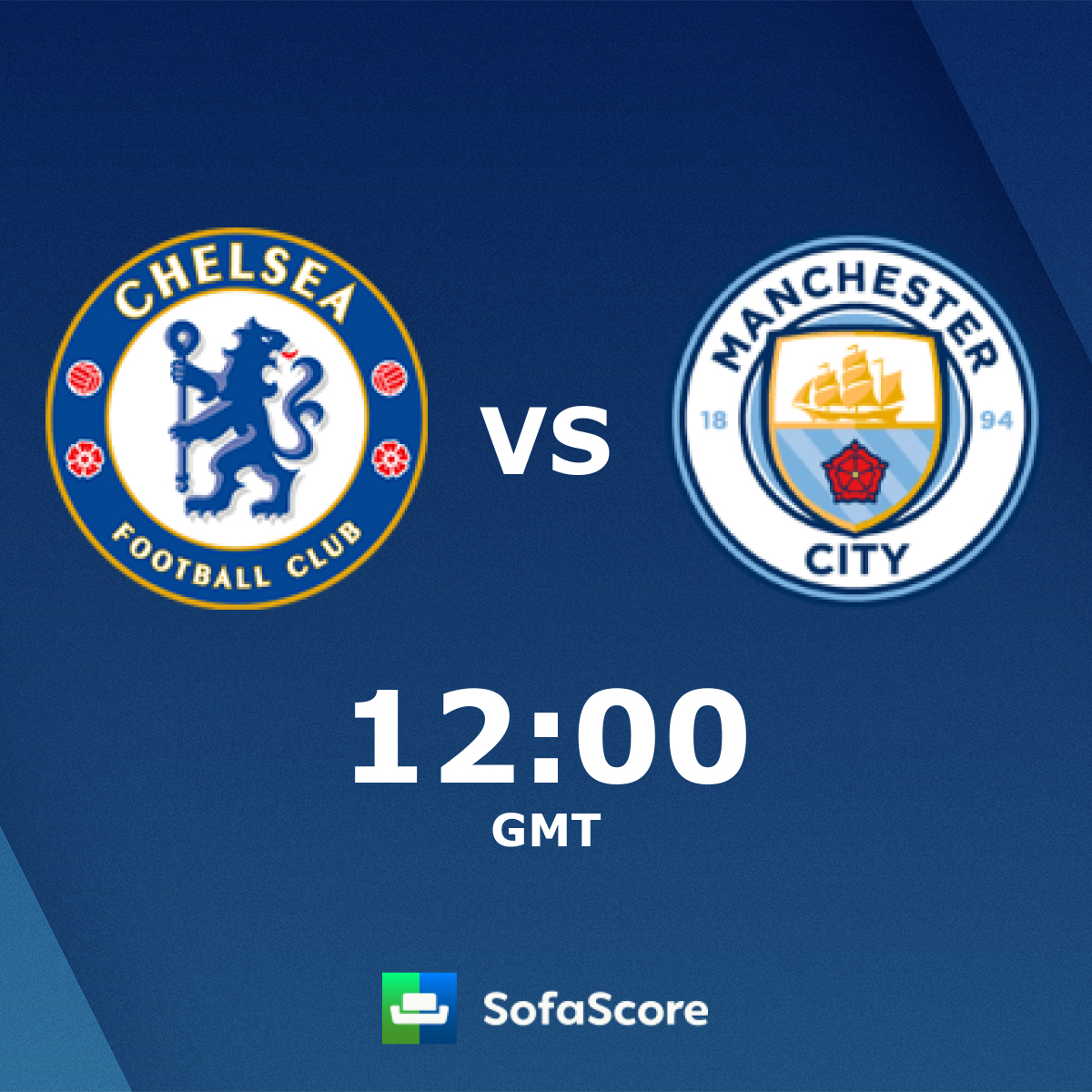 Chelsea LFC Manchester City LFC live score, video stream and
