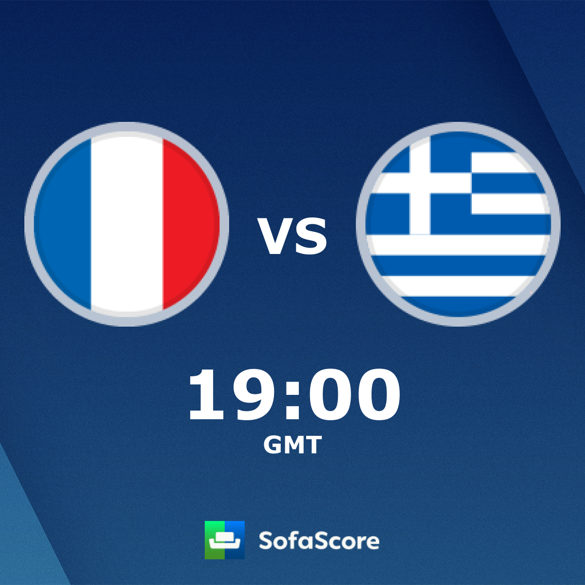 France Greece live score, video stream and H2H results