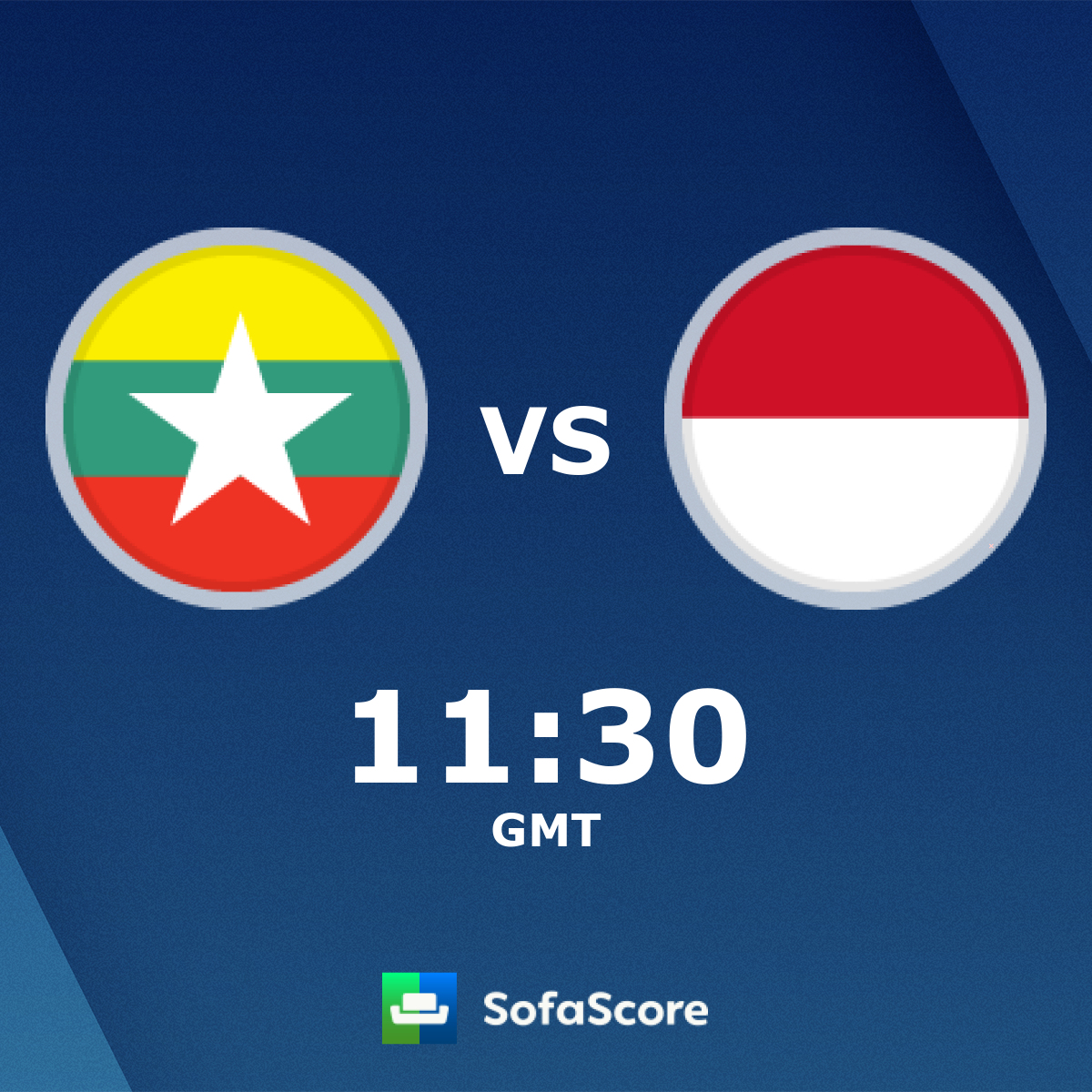 Myanmar Indonesia live score, video stream and H2H results
