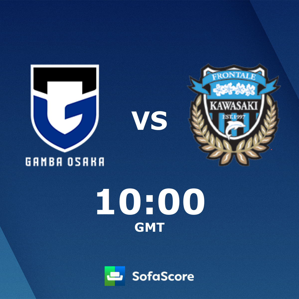 Gamba Osaka Kawasaki Frontale Live Score Video Stream And H2h Results Sofascore