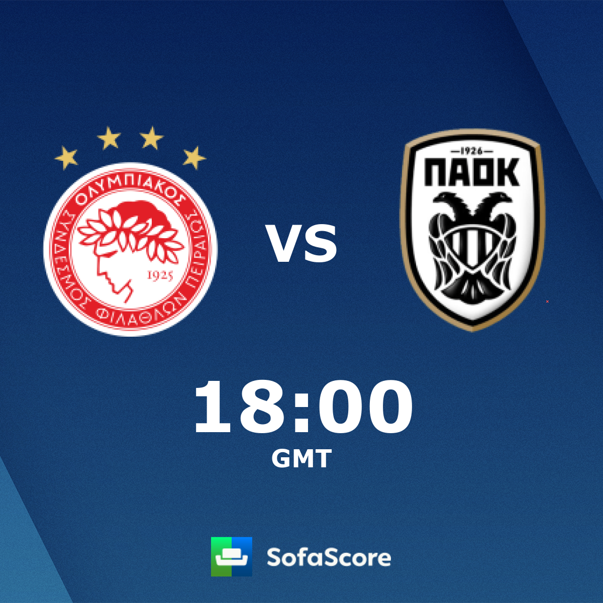 Olympiacos Vs Paok Live Score H2h And Lineups Sofascore
