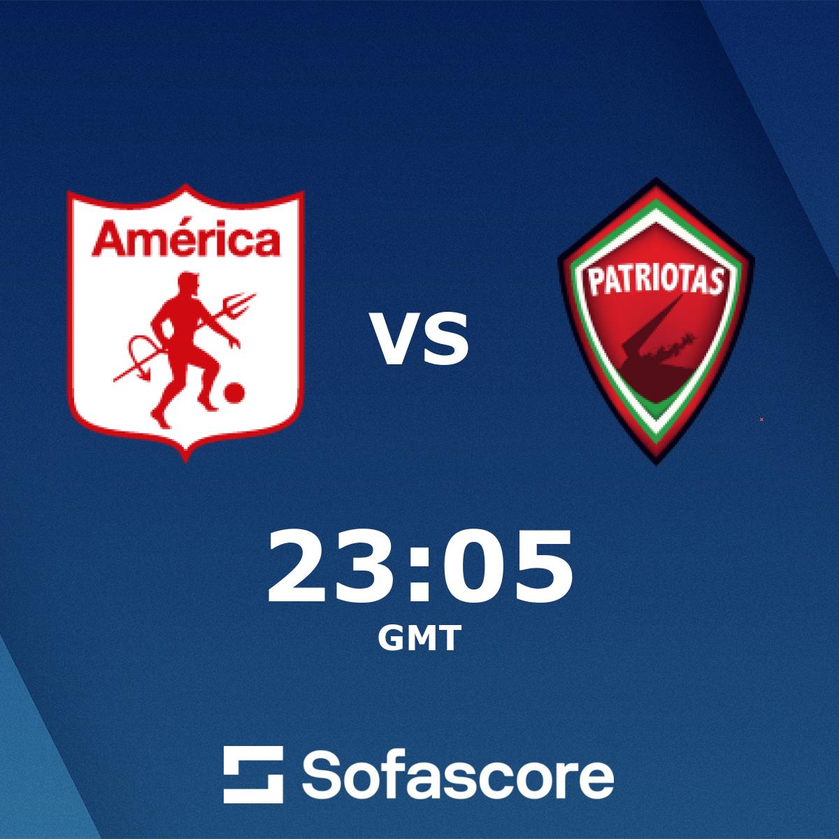 America De Cali Patriotas Boyaca Live Score Video Stream And H2h Results Sofascore