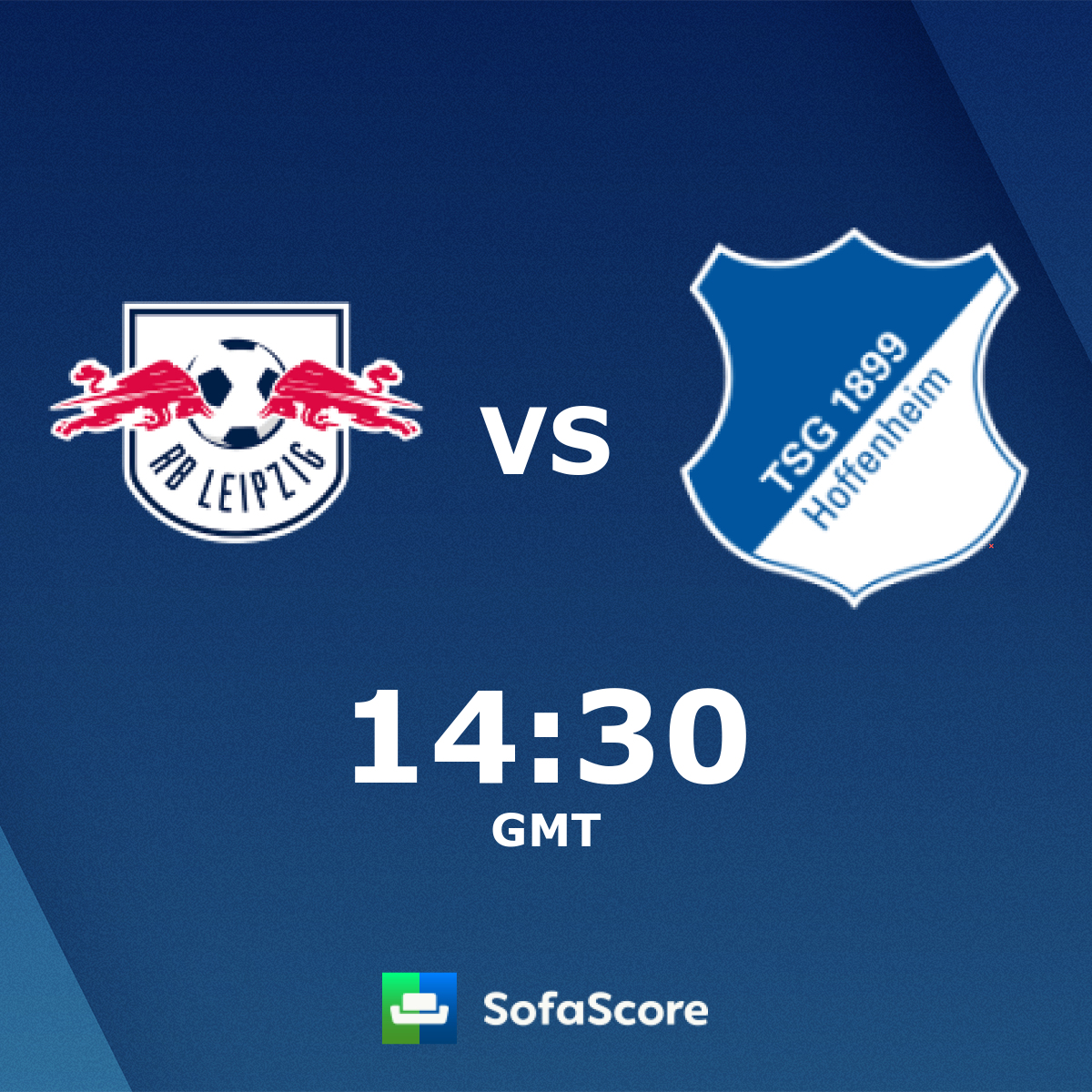 RB Leipzig 1899 Hoffenheim live score, video stream and H2H results