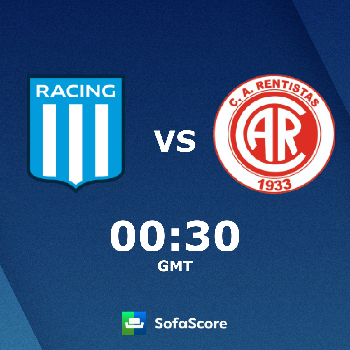 Racing Club Rentistas Live Score Video Stream And H2h Results Sofascore