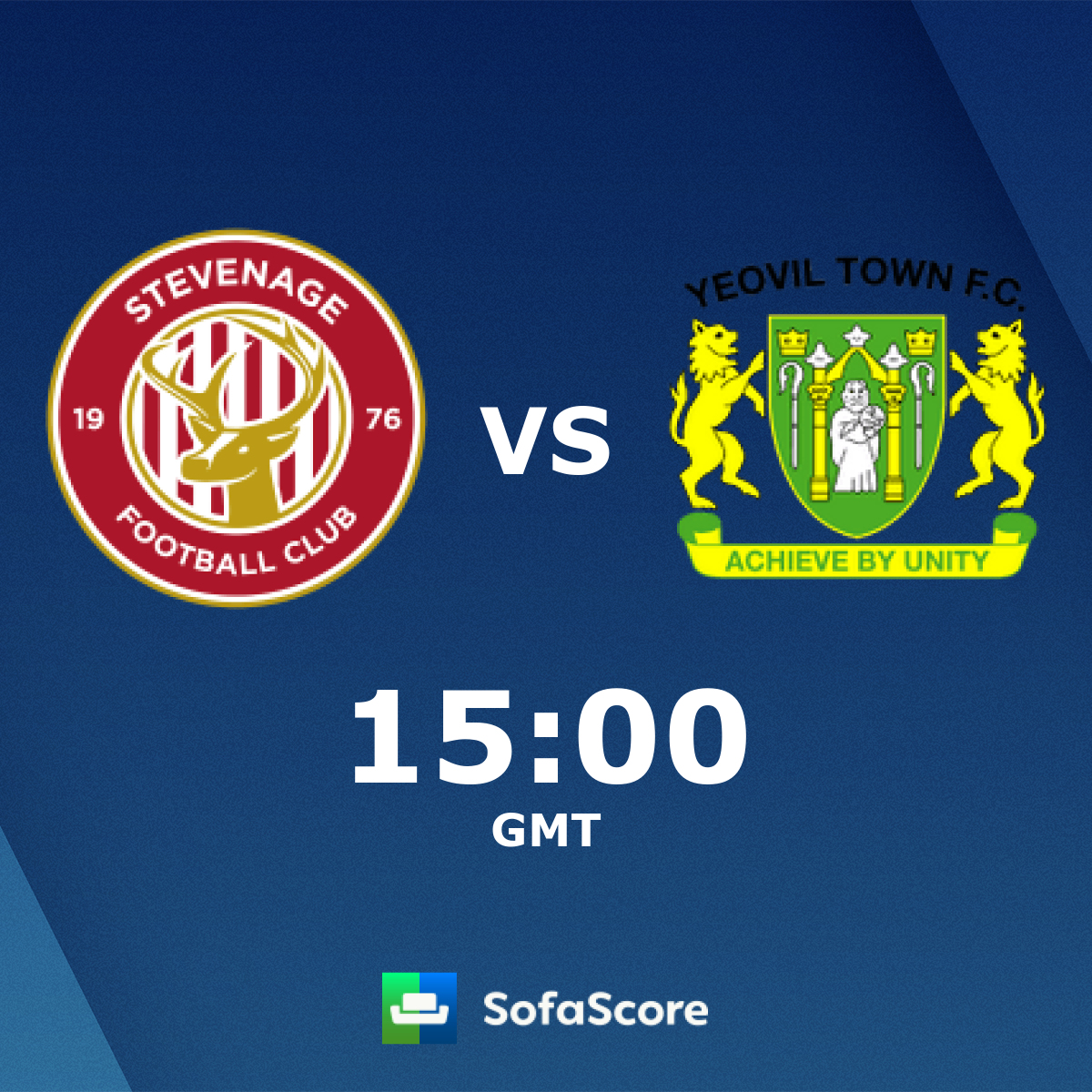 Stevenage Yeovil Town live score, video stream and H2H