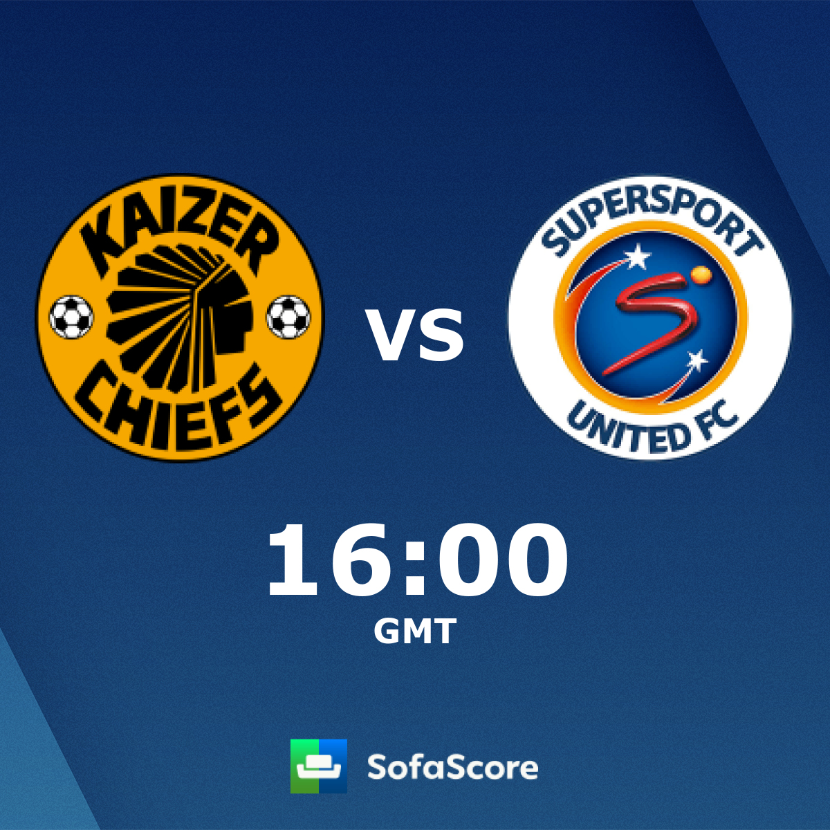 Kaizer Chiefs Supersport United live score, video stream and