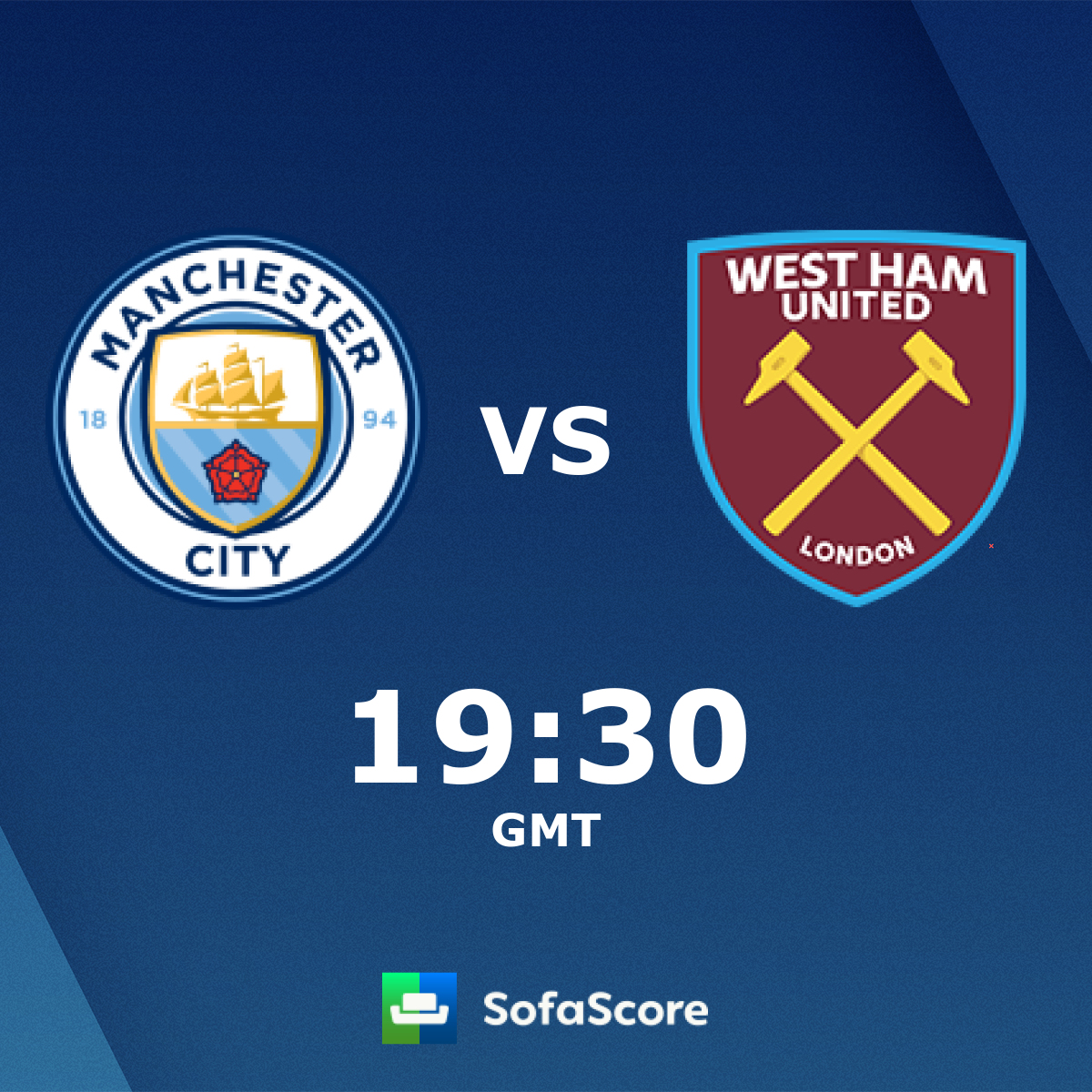 Manchester City West Ham United Live Score Video Stream And H2h