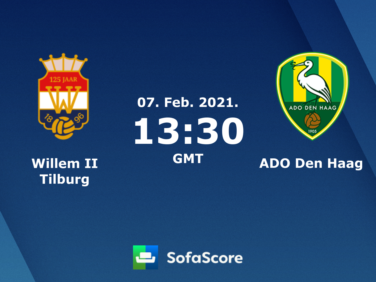 Willem Ii Tilburg Ado Den Haag Live Score Video Stream And H2h Results Sofascore