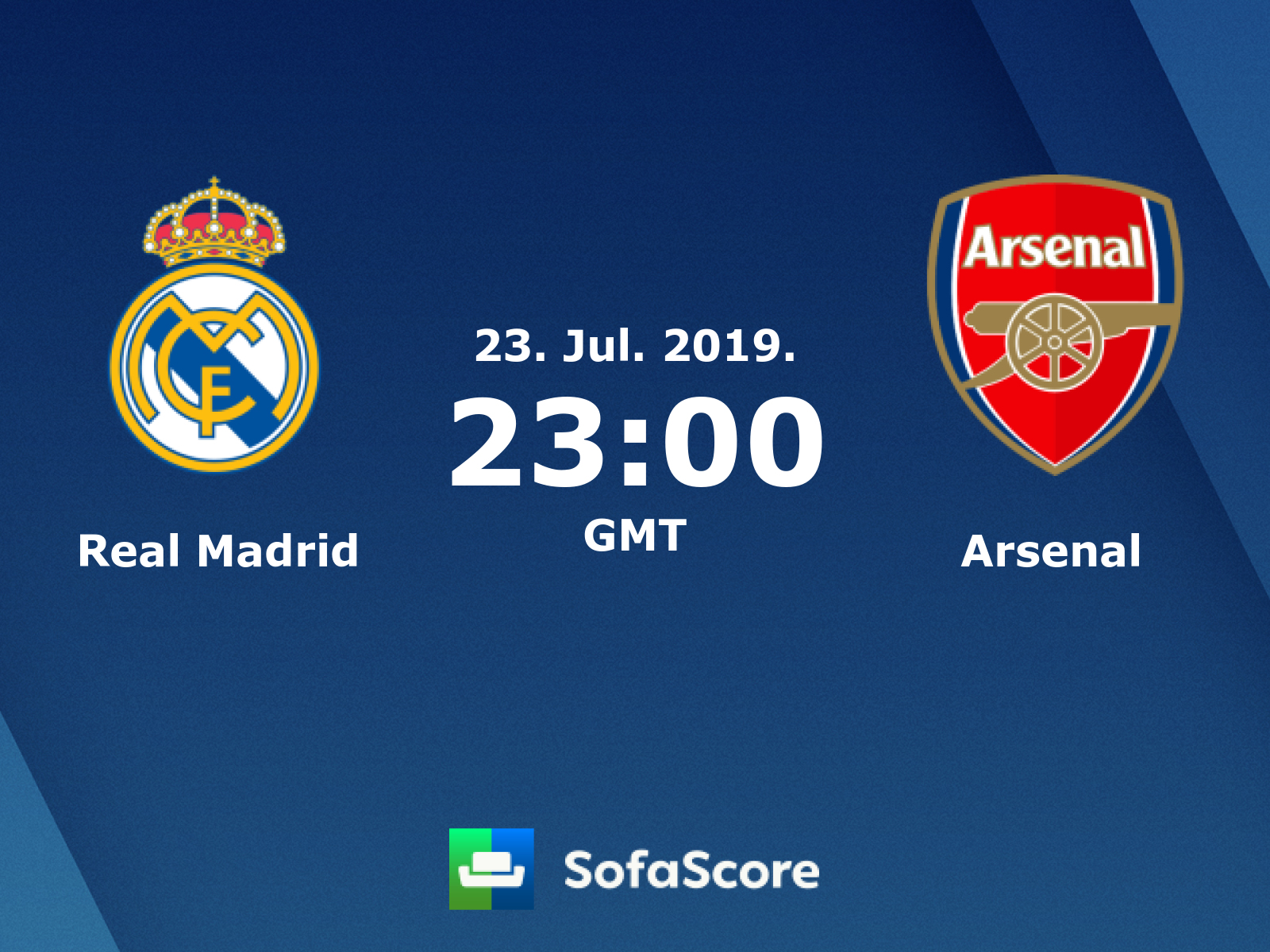 Real Madrid Arsenal live score, video stream and H2H results - SofaScore