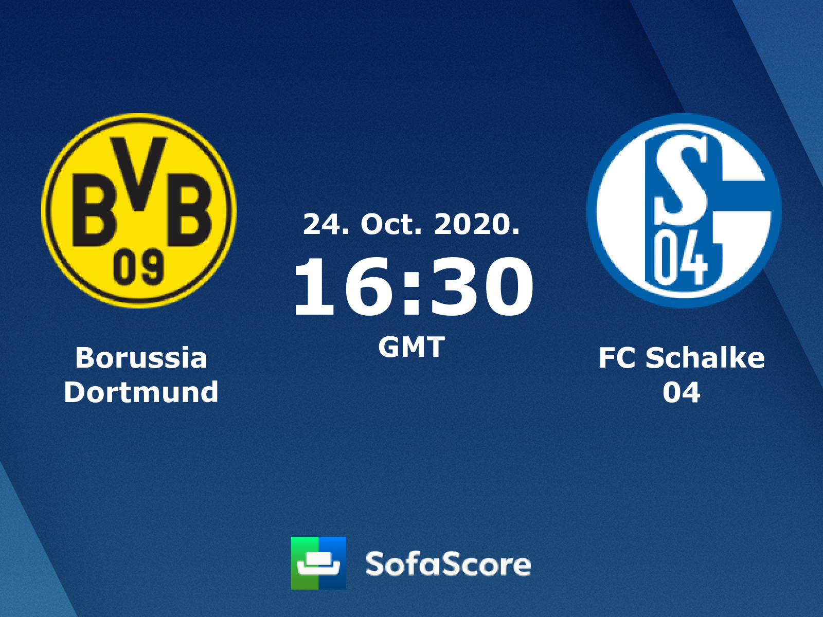 Borussia Dortmund Fc Schalke 04 Live Score Video Stream And H2h Results Sofascore