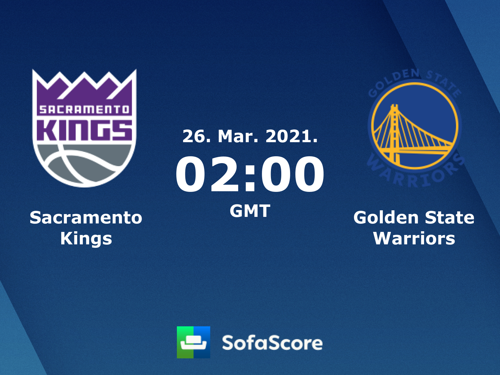 Sacramento Kings Golden State Warriors Live Score Video Stream And H2h Results Sofascore