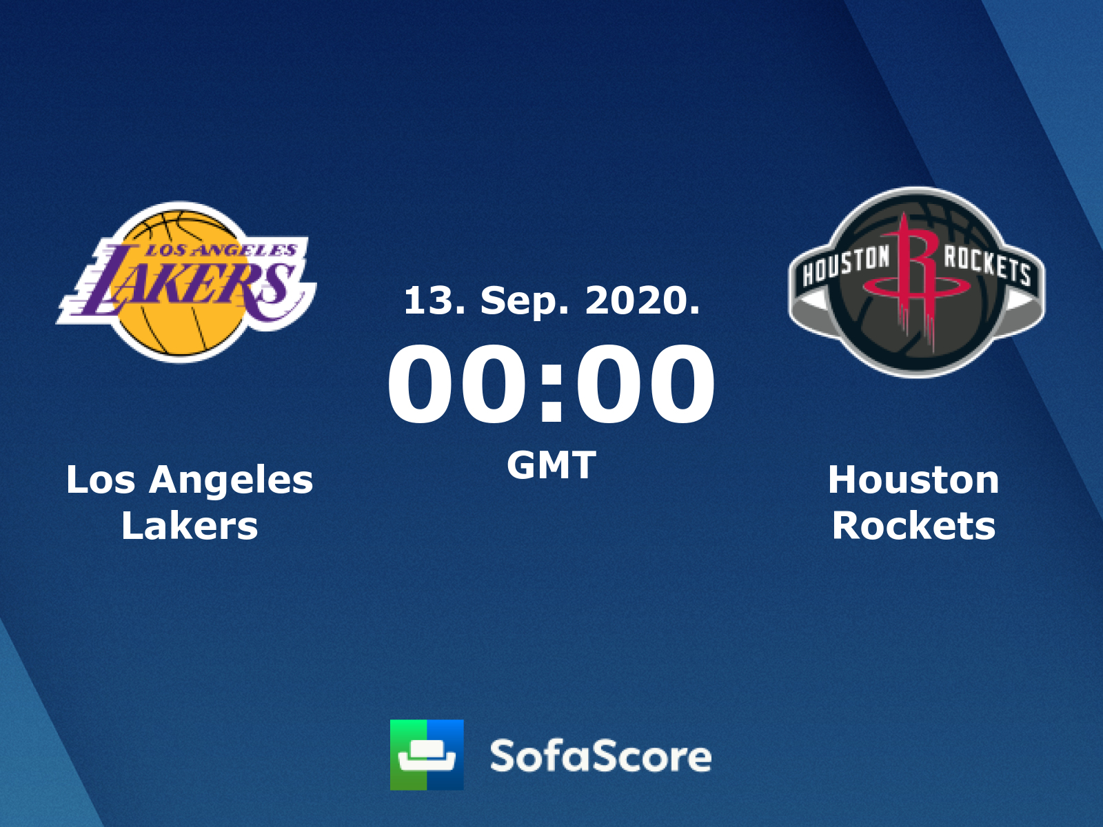 Los Angeles Lakers Houston Rockets Live Score Video Stream And H2h Results Sofascore