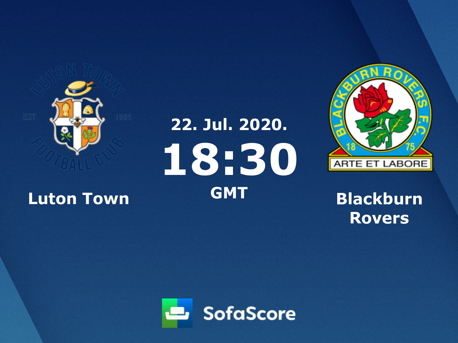 Luton Town Blackburn Rovers Live Score Video Stream And H2h
