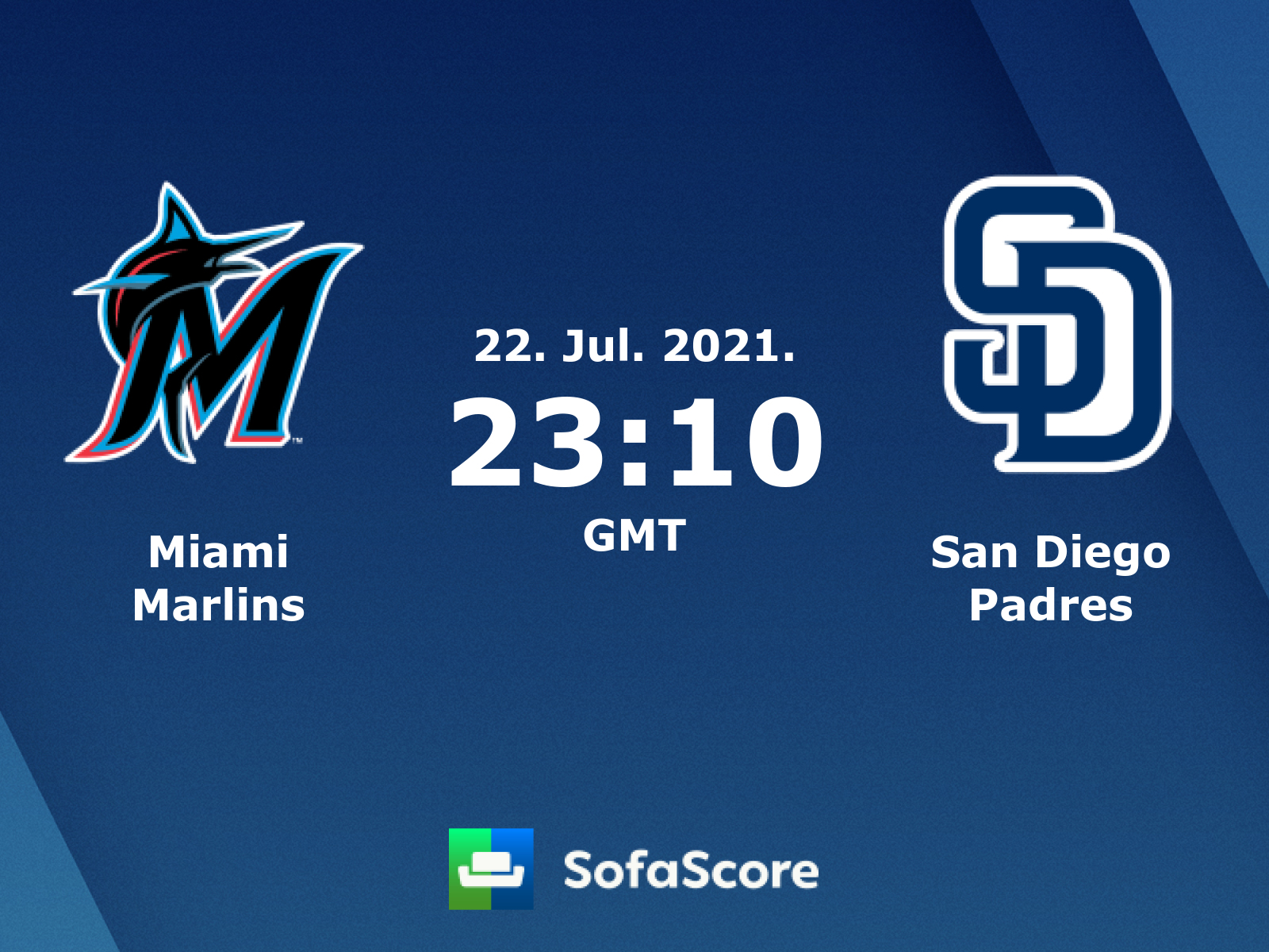 Miami Marlins San Diego Padres Live Score Video Stream And H2h Results Sofascore
