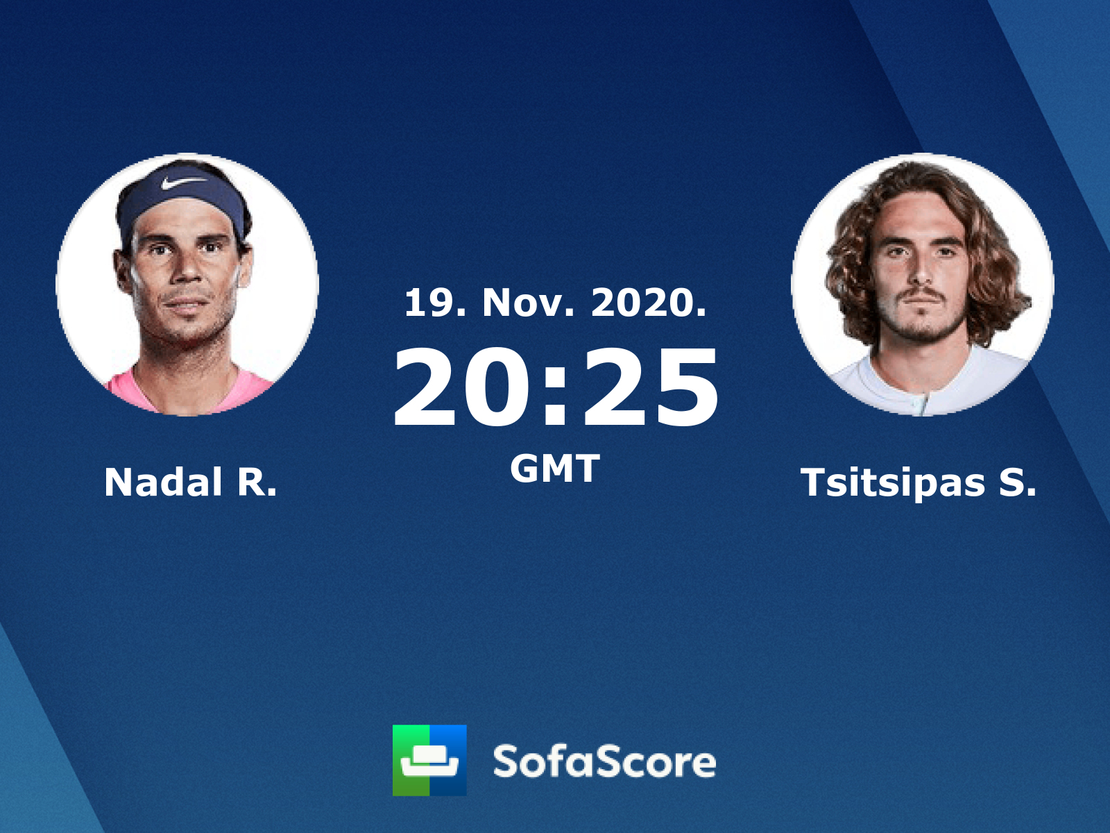 Nadal R. Tsitsipas S. live score, video stream and H2H results - SofaScore