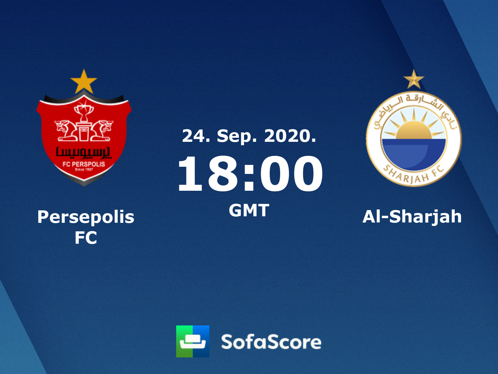 Persepolis Al Sharjah Live Score Video Stream And H2h Results Sofascore